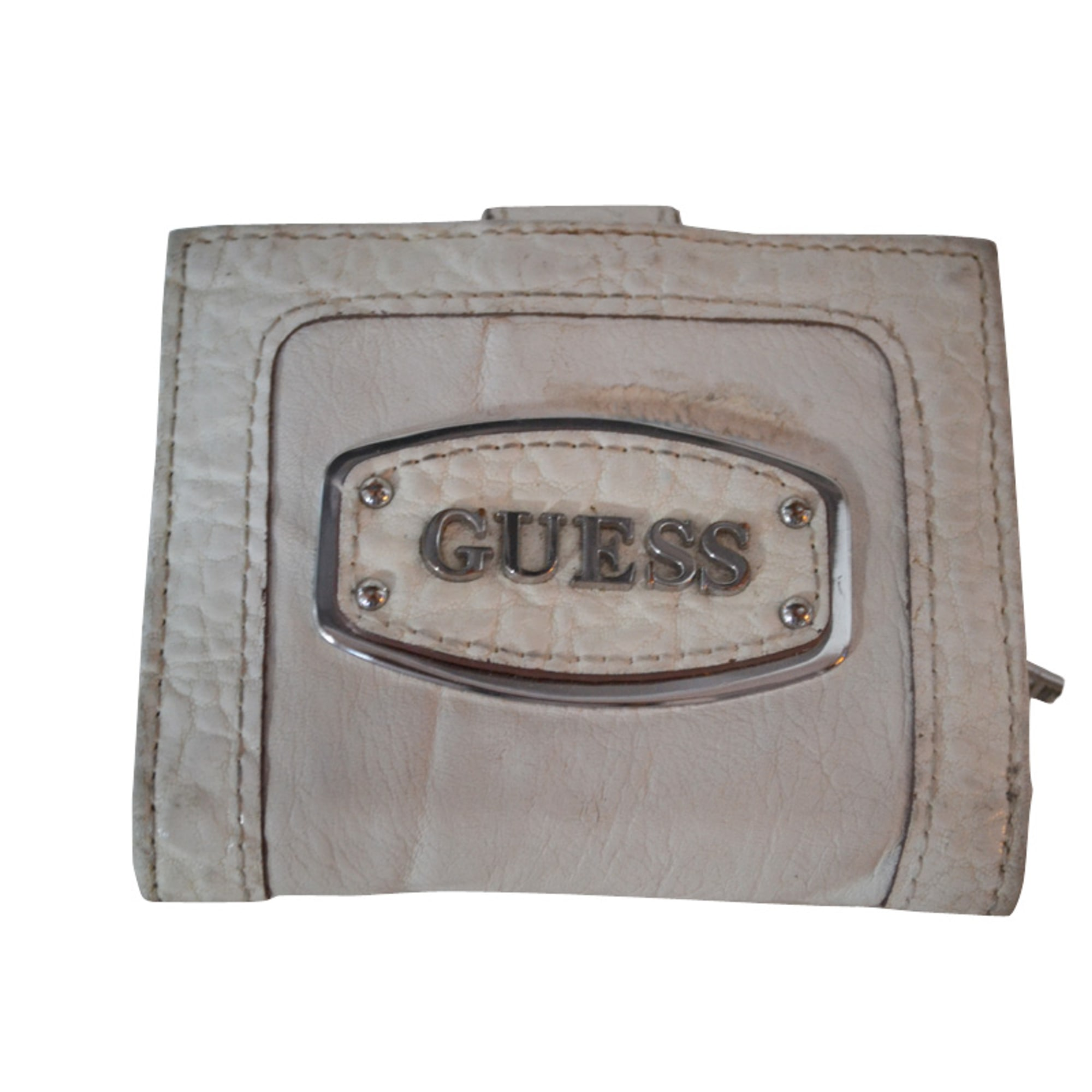Portefeuille Guess Blanc 805403