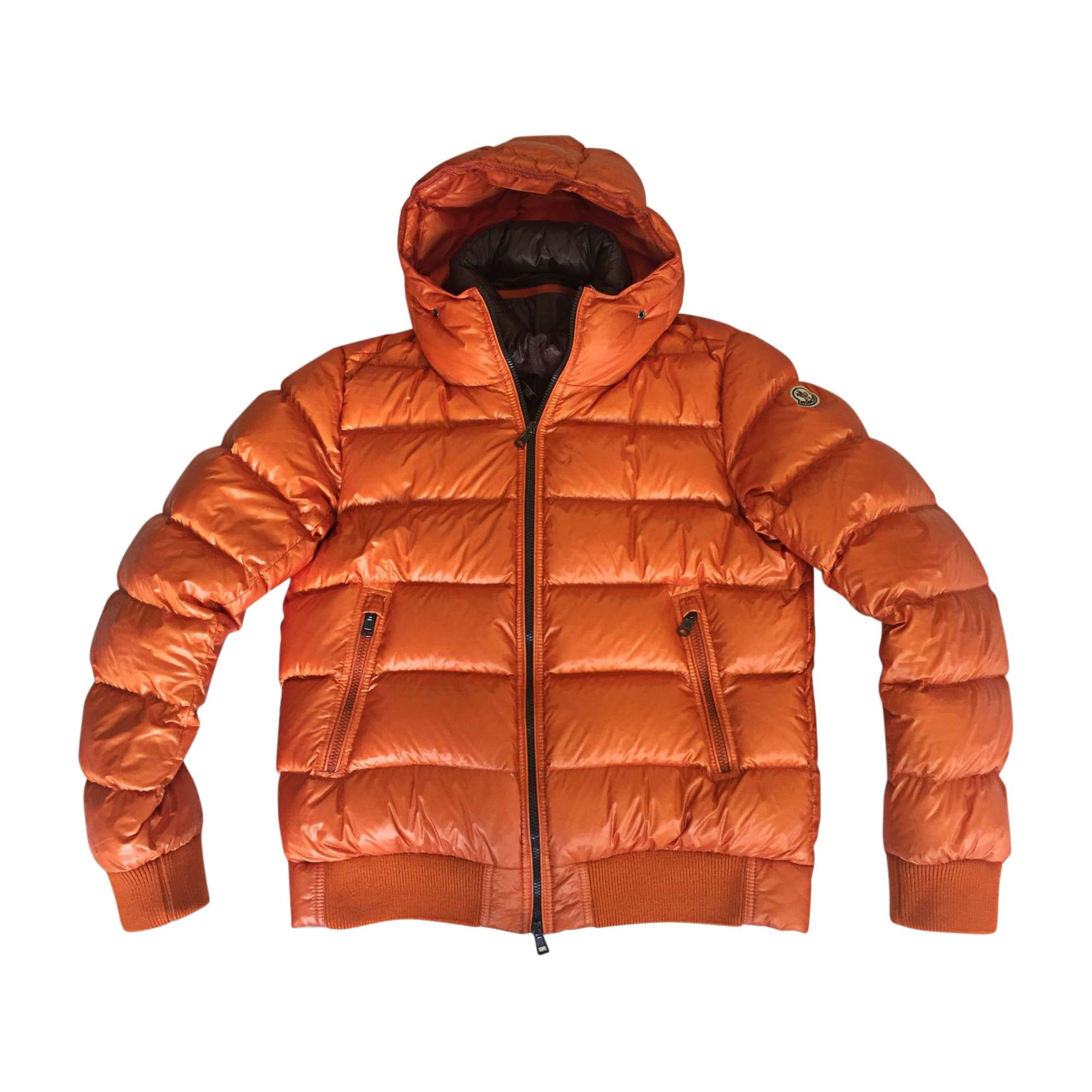 Doudoune MONCLER 52 (L) orange vendu par Banderier 2 - 8060248 4c0ee006b3c