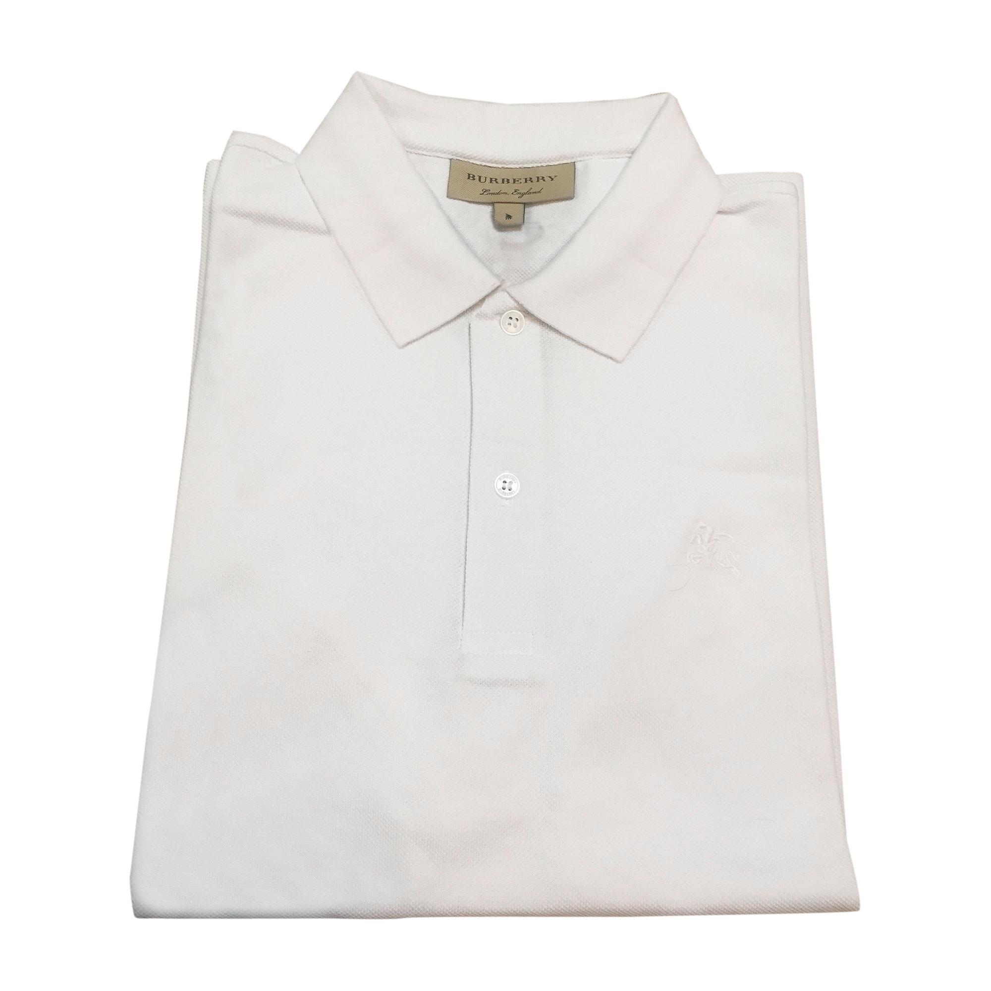 6d52da841e0c Polo BURBERRY Blanc, blanc cassé, écru