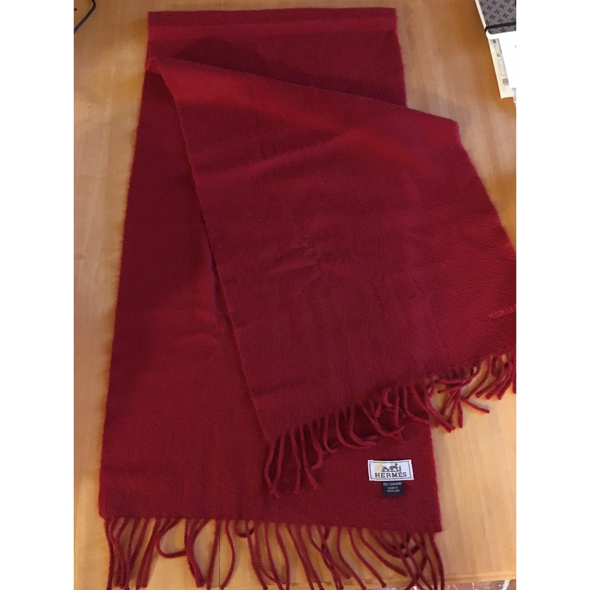 785033f1de1d Echarpe HERMÈS rouge vendu par Sandrine 5976 - 8070558