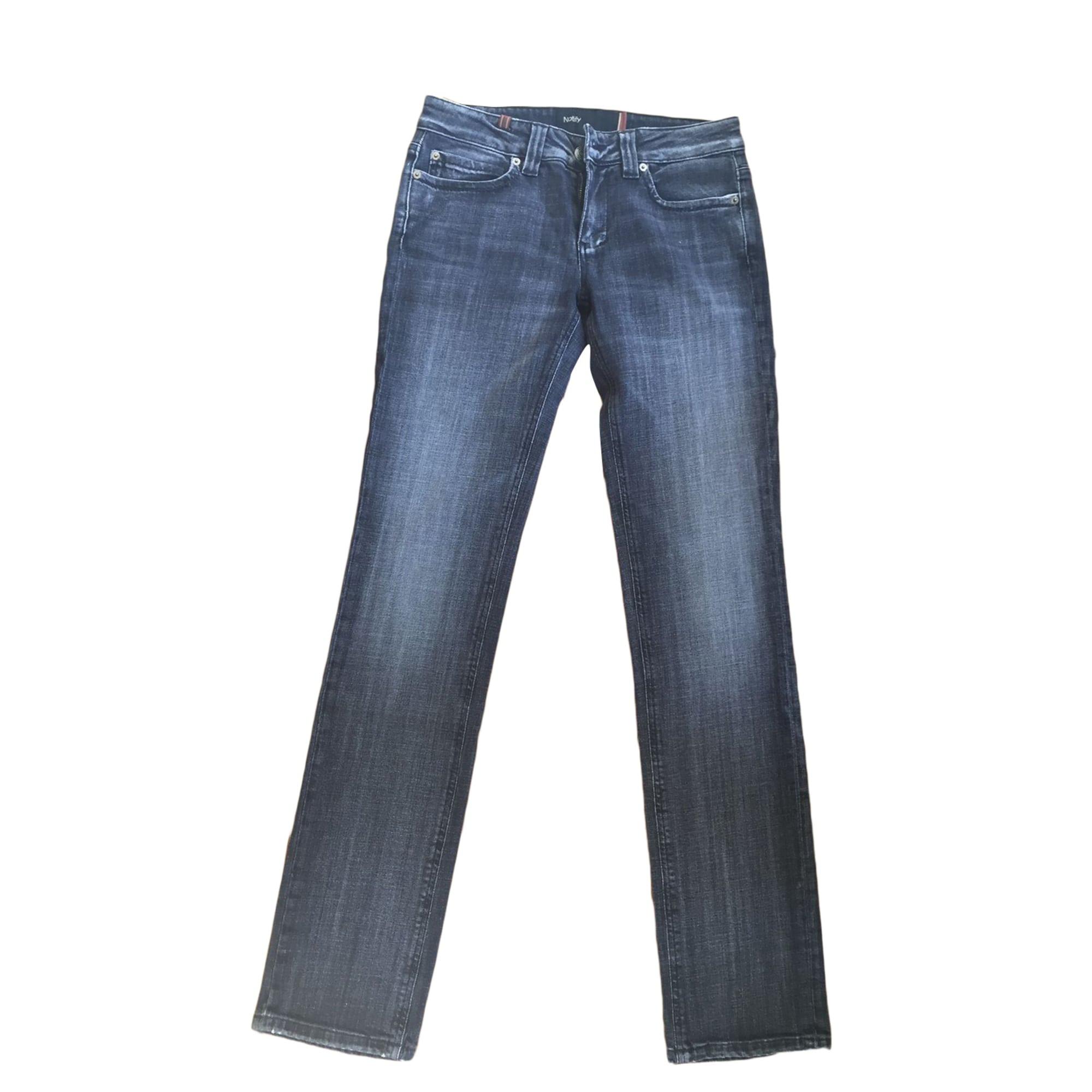 Jeans droit NOTIFY Gris, anthracite