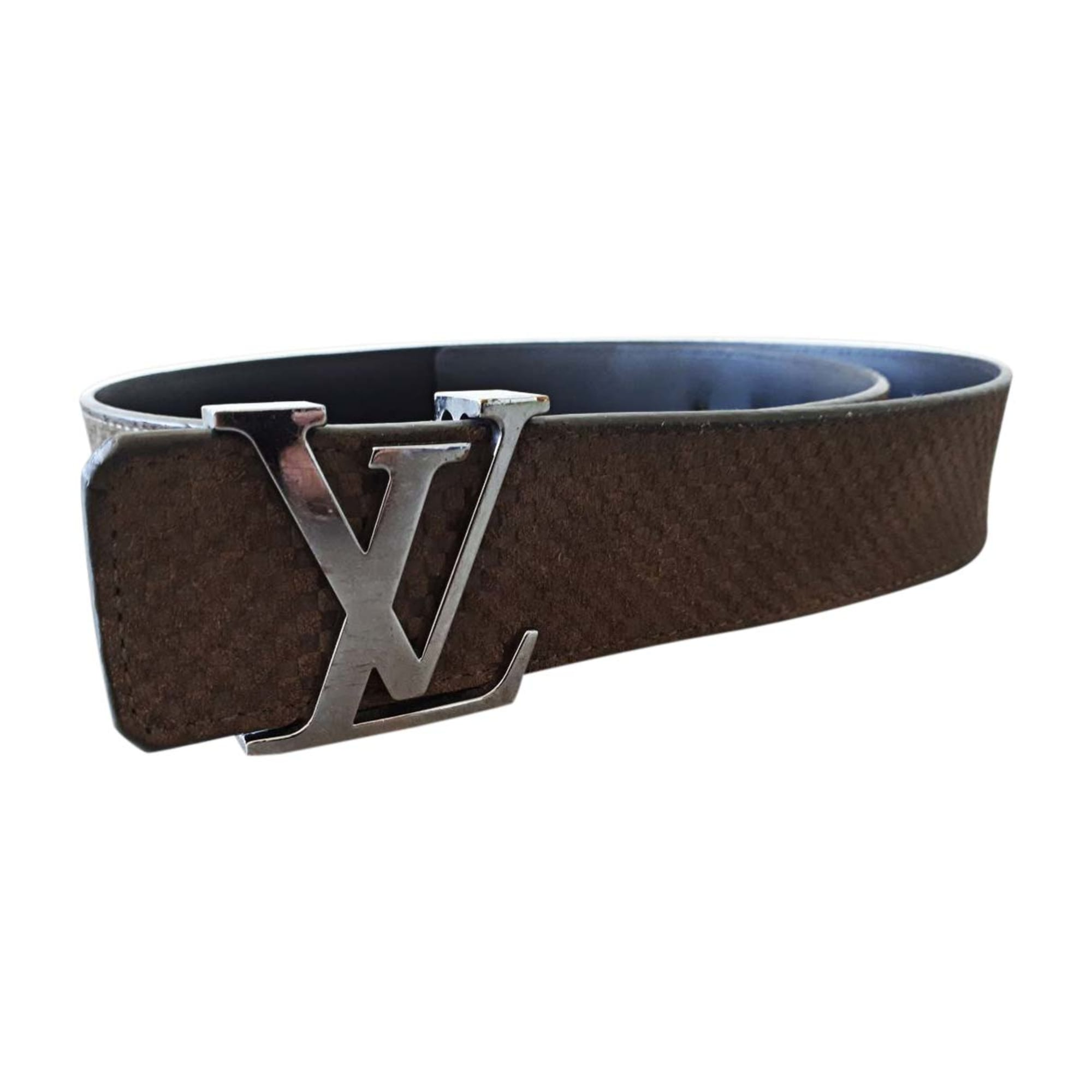 4b0beb452ebe Ceinture LOUIS VUITTON 90 marron vendu par Rock.glam.love - 8076975