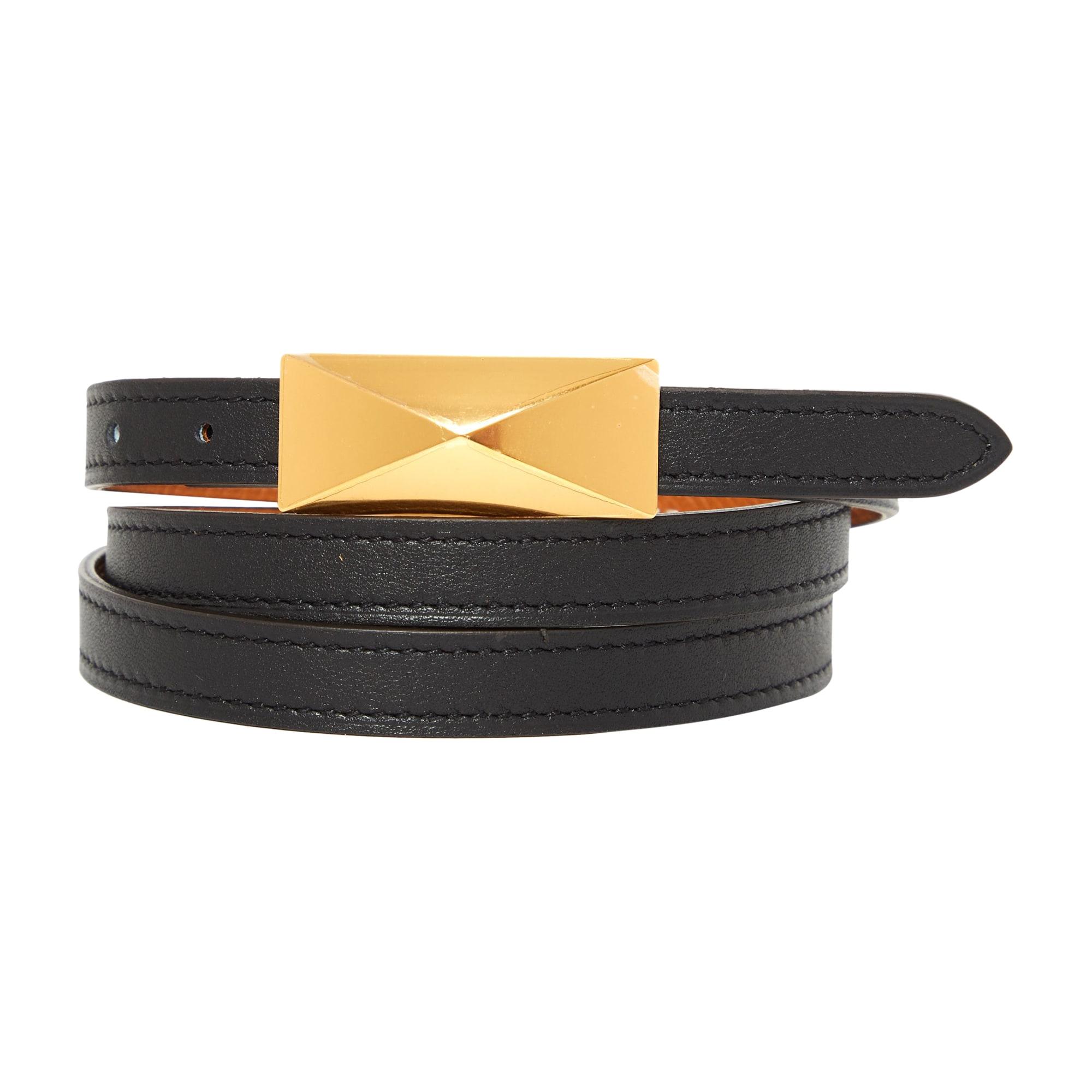 e263ea7951d Ceinture fine HERMÈS ceinture h 85 noir - 8081538