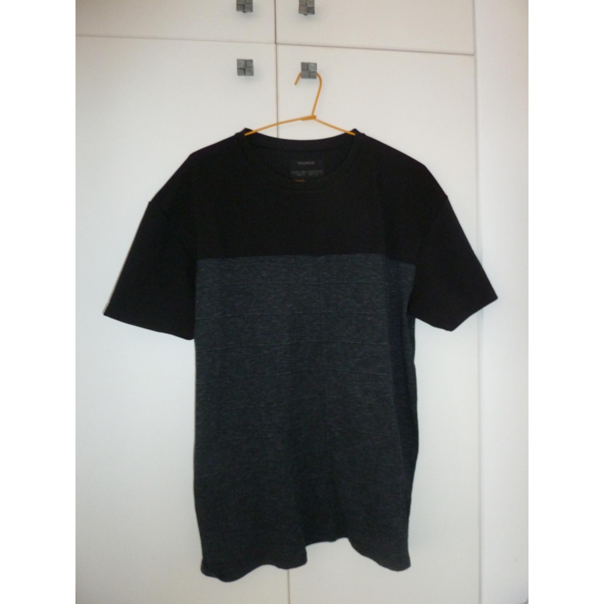 Tee-shirt PULL & BEAR Noir