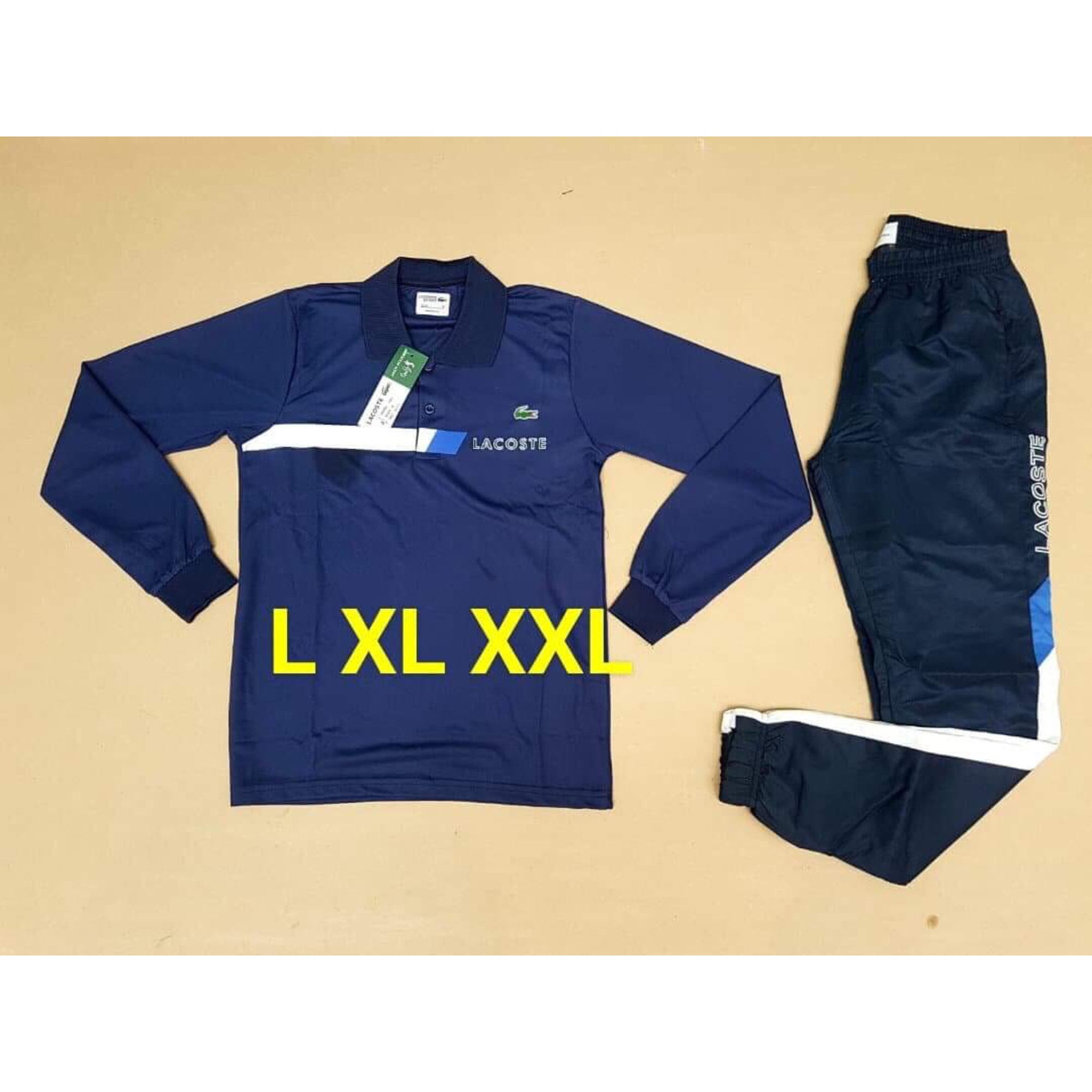 152b930cb6 Ensemble jogging LACOSTE 48 (M) bleu vendu par Gauthier 147 - 8089706