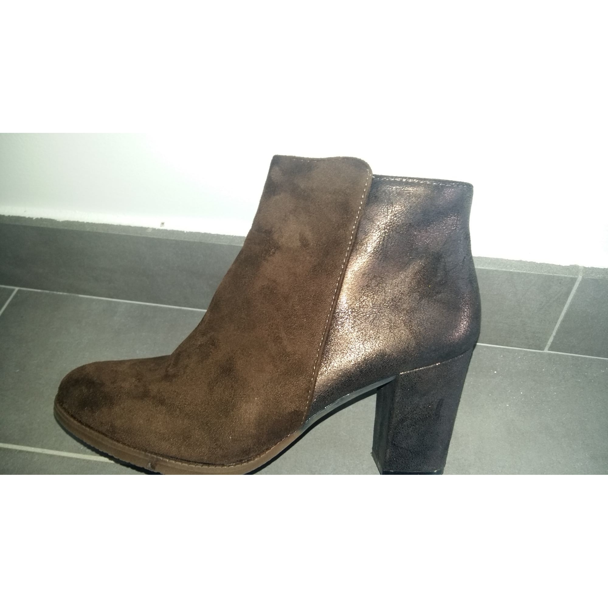 Talons Besson amp; Marron Mymi Par Bottines Low À Vendu 26 40 Boots nx6nIX0q