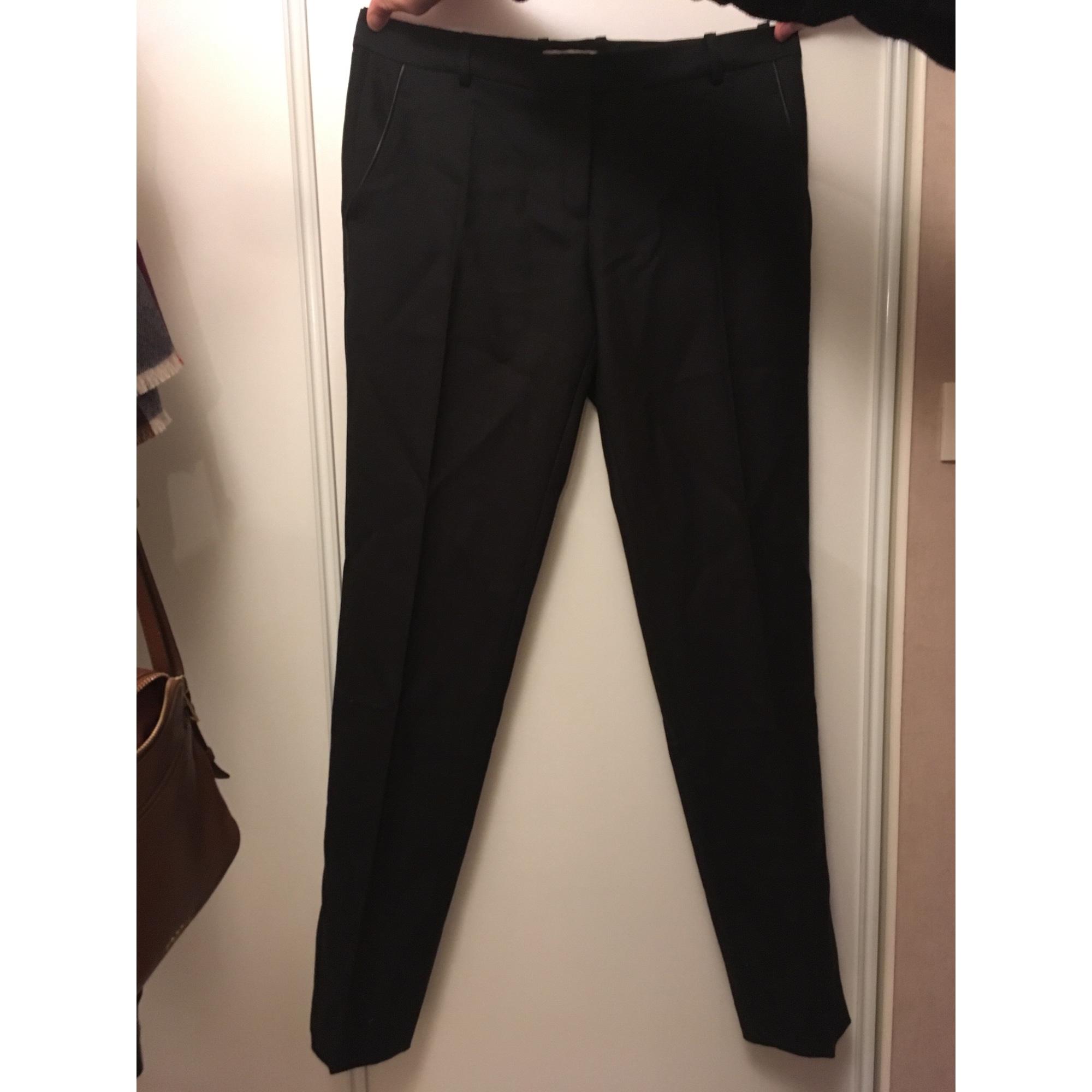 Pantalon droit ZAPA Noir