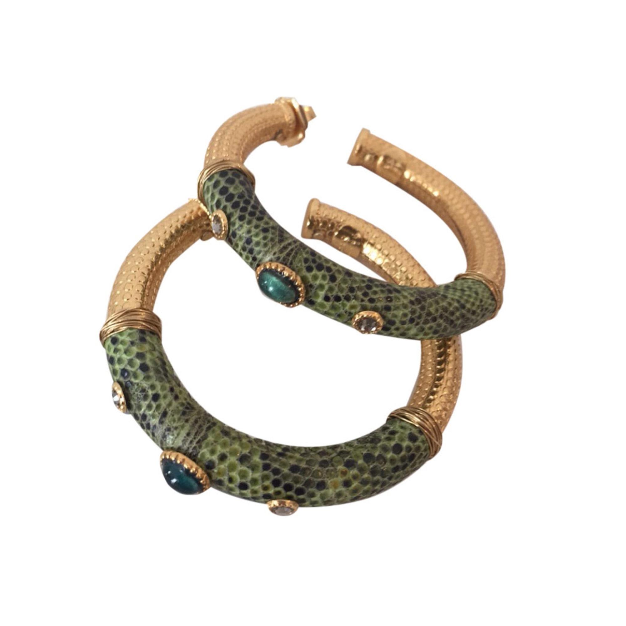 Ohrringe GAS BIJOUX Gold, Bronze, Kupfer
