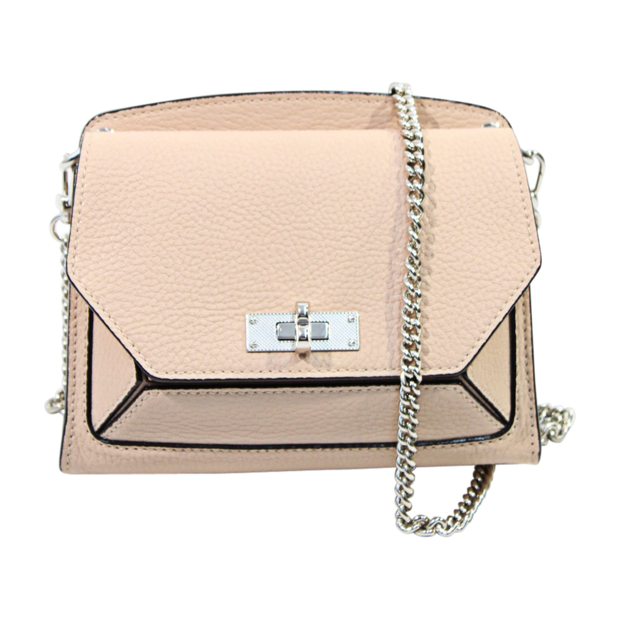 Leather Shoulder Bag BALLY Beige, camel