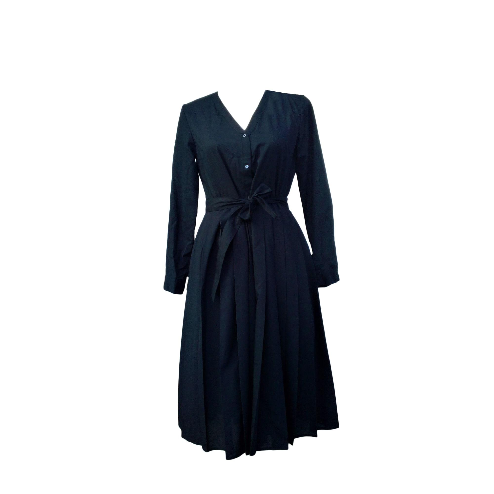 Robe mi longue comptoir des cotonniers 36 s t1 noir - Robe longue comptoir des cotonniers ...