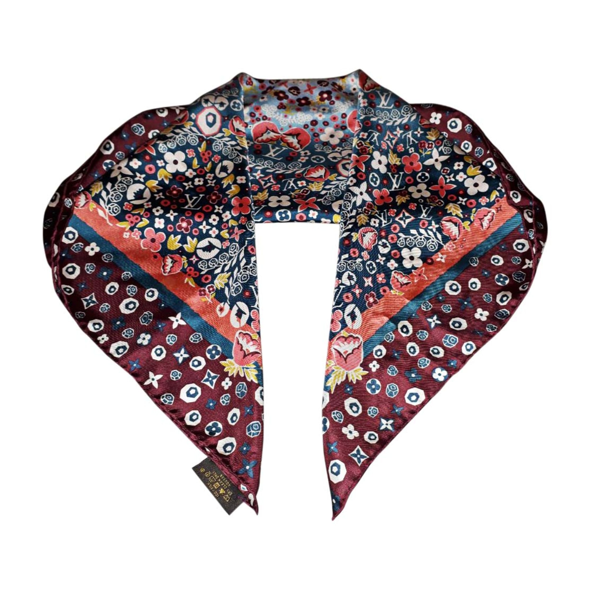 42e7743897d Foulard LOUIS VUITTON multicouleur - 8105211