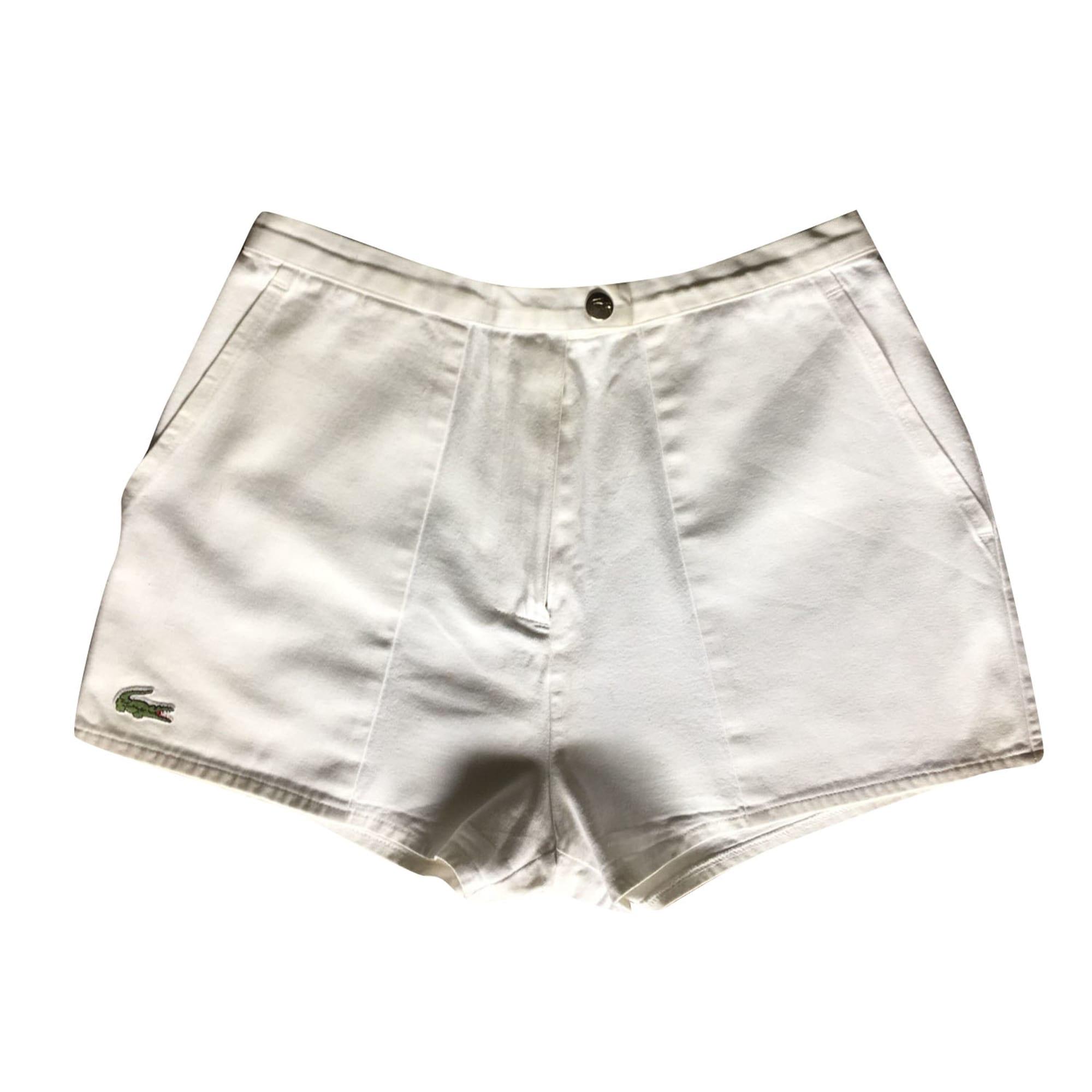 Femme Blanc Short Short Short Lacoste Lacoste Femme Lacoste Femme Blanc hQtsxCrd