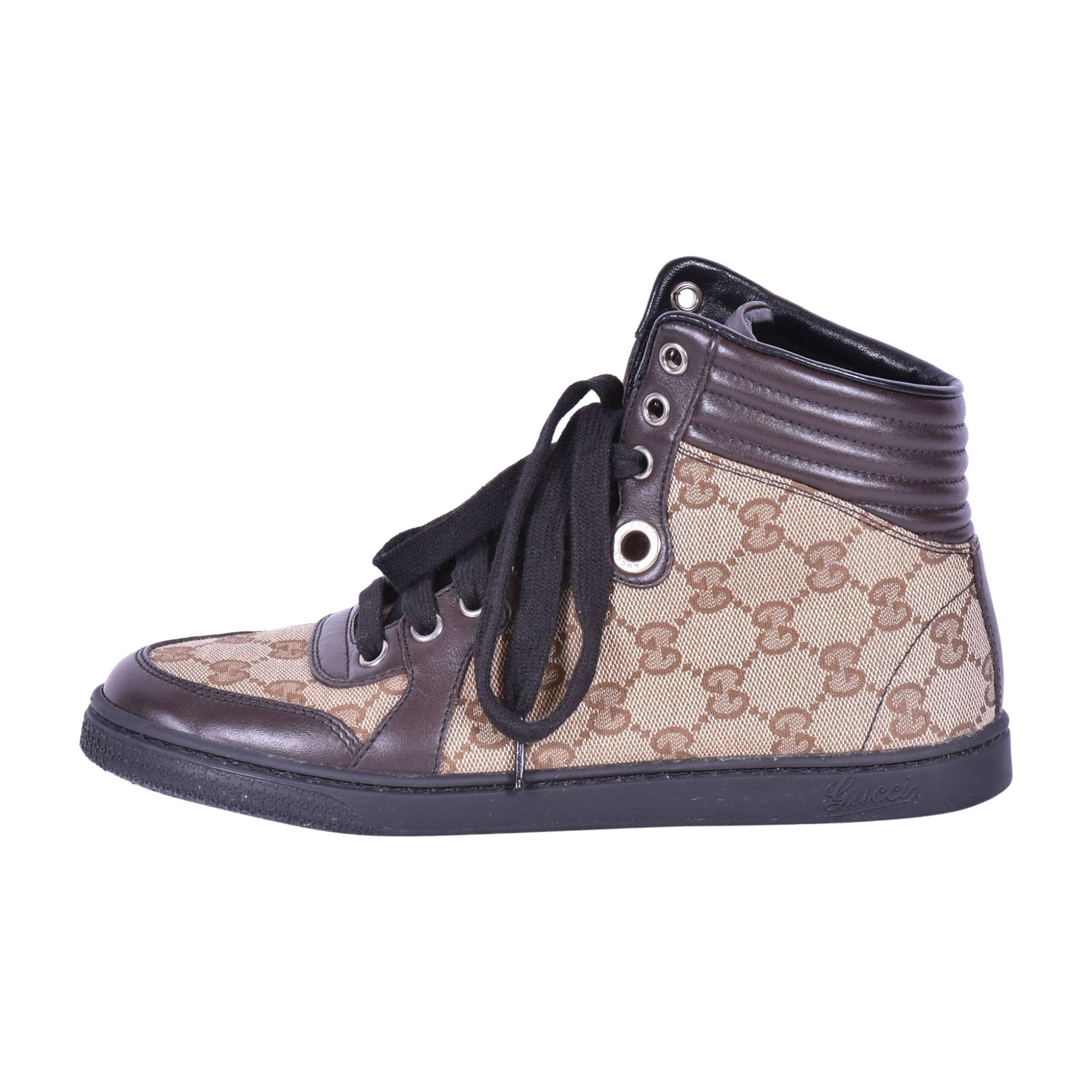 Sneakers GUCCI Brown/ beige