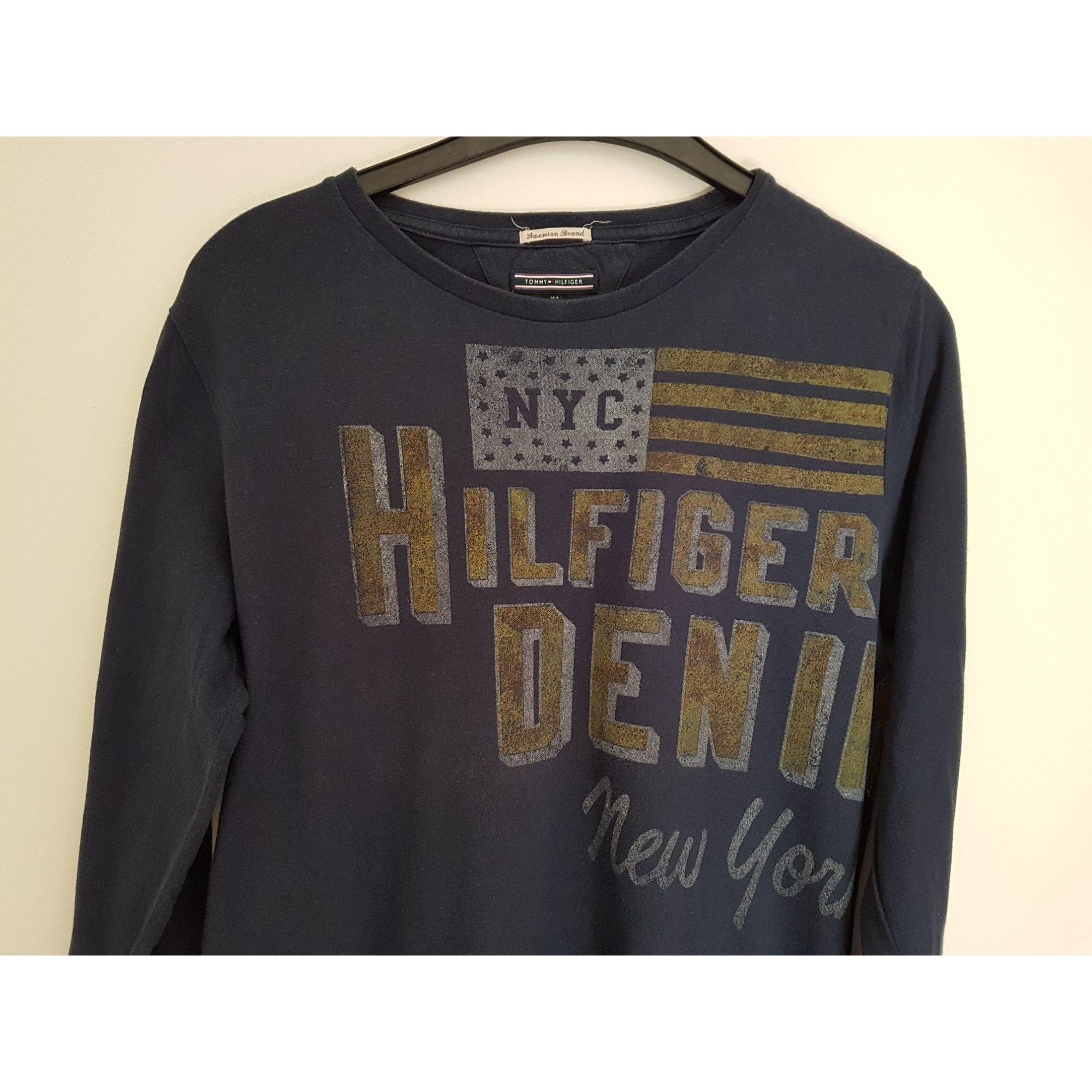 d21fead6ace29 Tee-shirt TOMMY HILFIGER Bleu, bleu marine, bleu turquoise