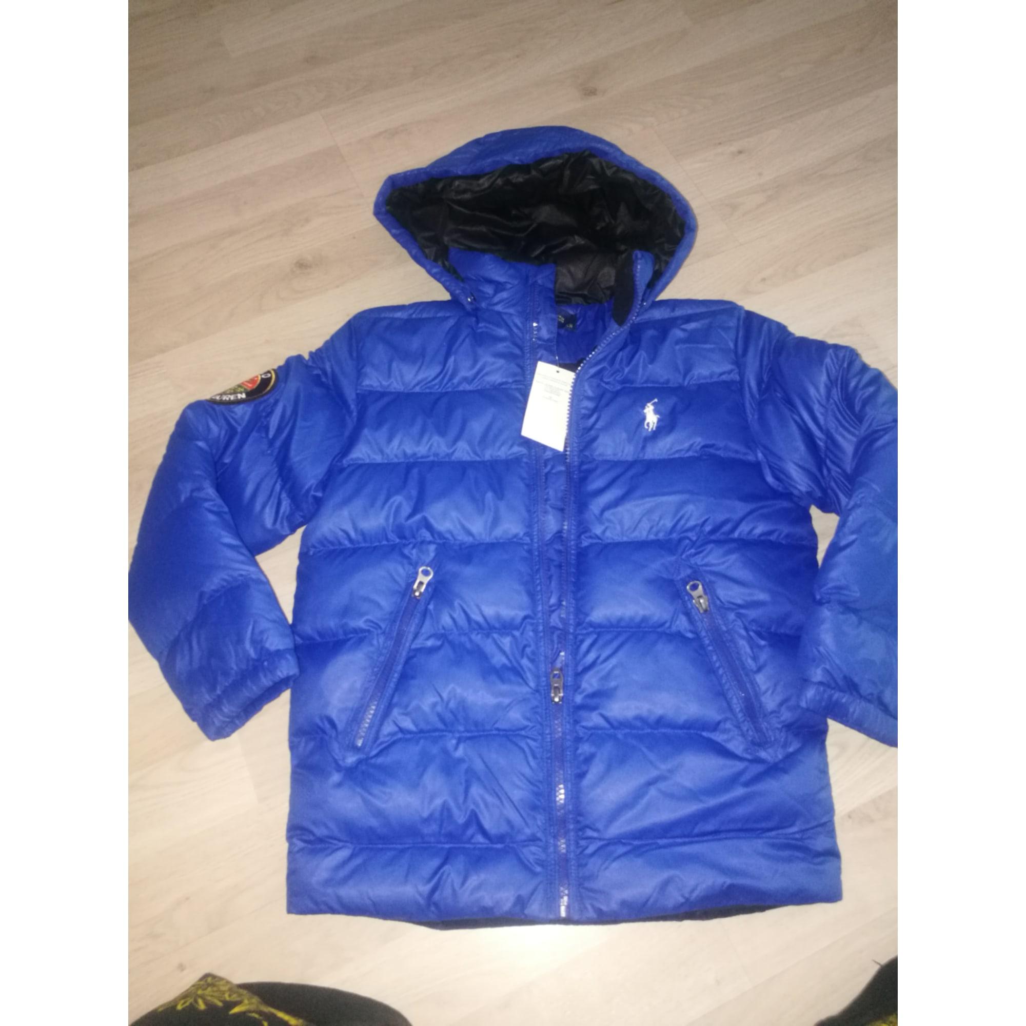 Doudoune RALPH LAUREN Bleu, bleu marine, bleu turquoise 5f989a79a1b4
