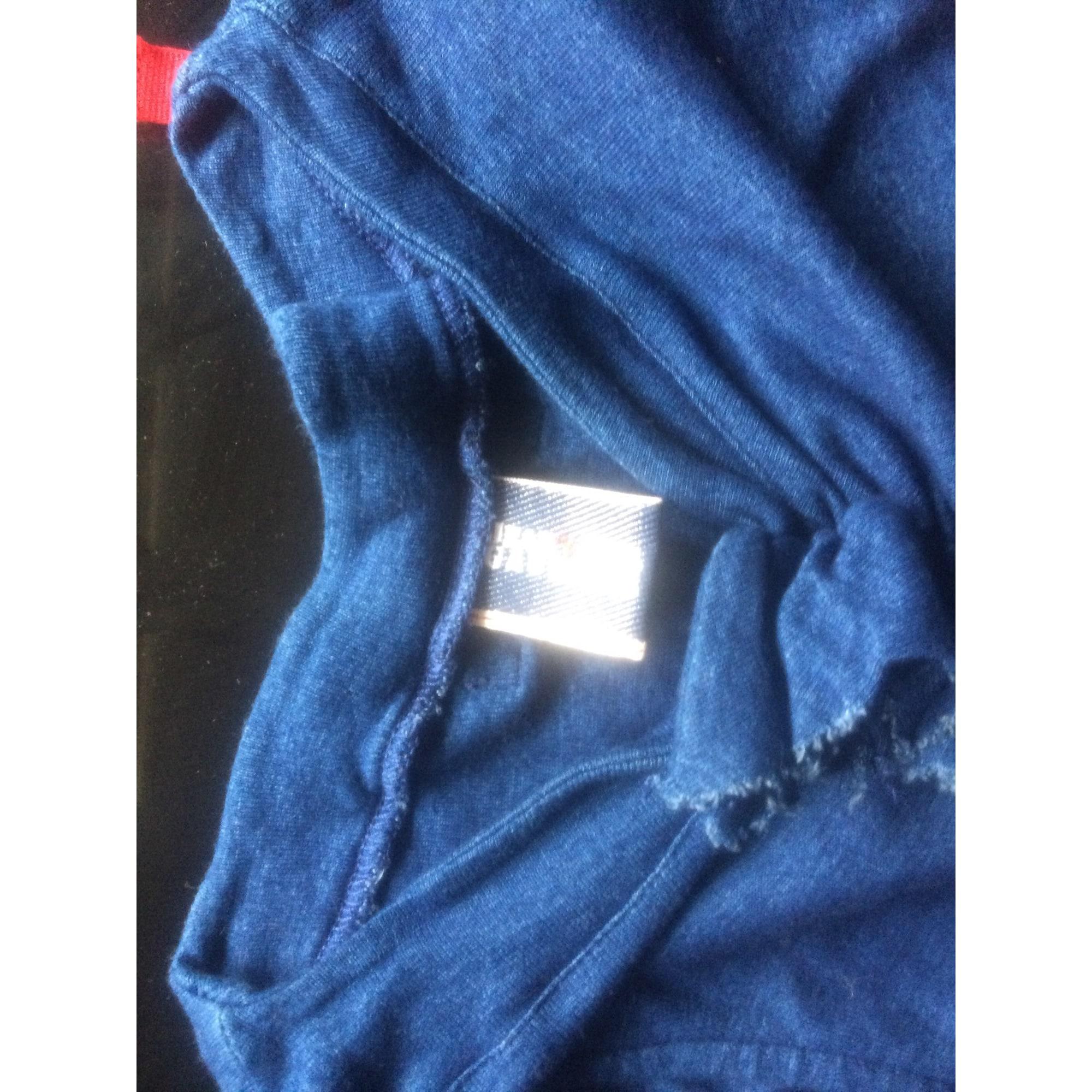 f8d21a87120 Robe mi-longue JEAN PAUL GAULTIER Bleu et rouge