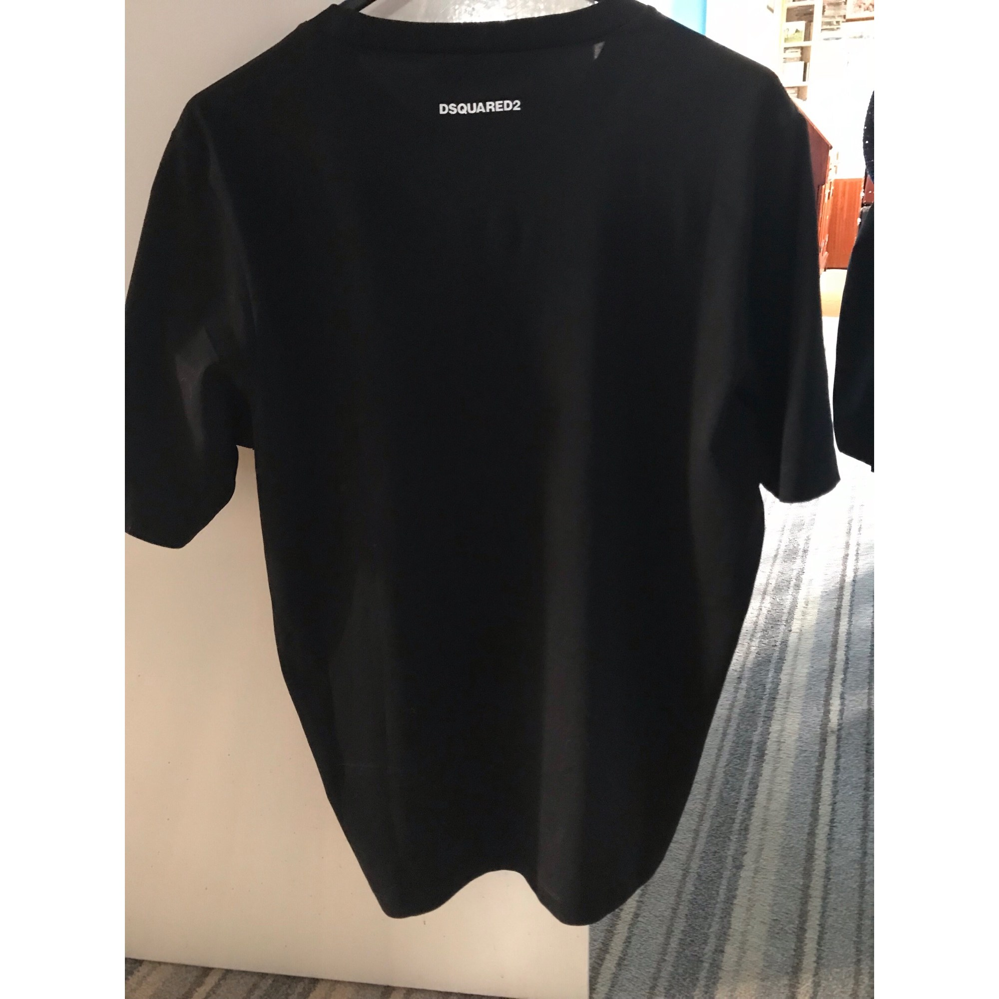 Tee Shirt Dsquared 2 M Noir 8143738