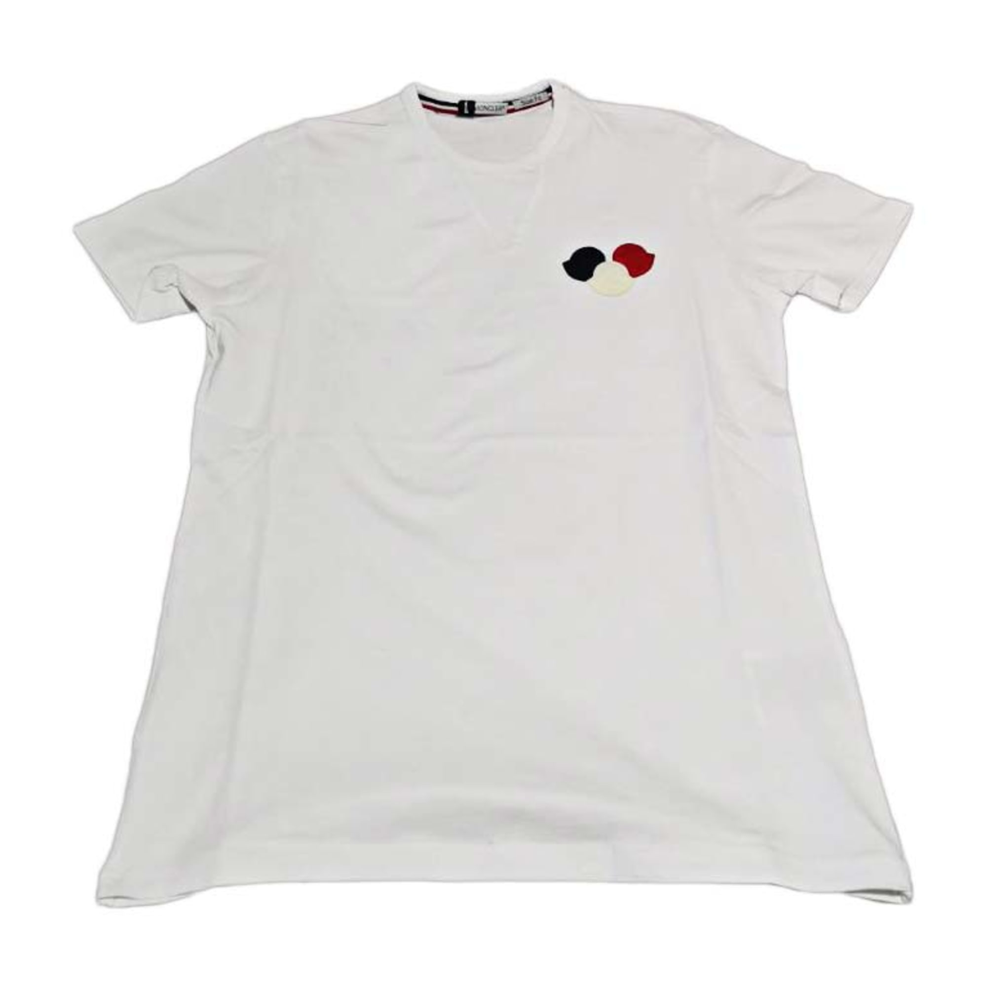 Tee-shirt MONCLER 1 (S) blanc vendu par Maqua - 8144315 9ccfcf01836