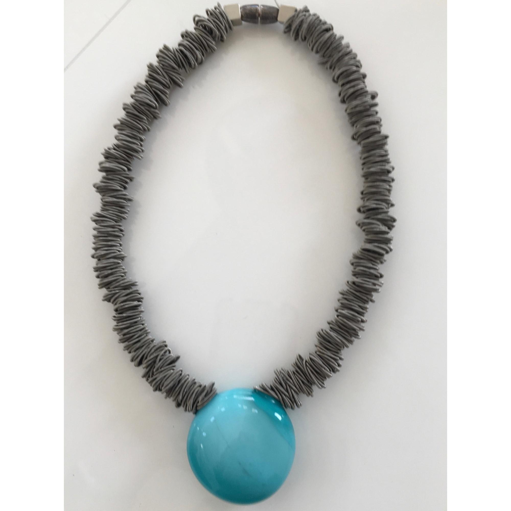 Collier ANTARES VENEZIA verre bleu