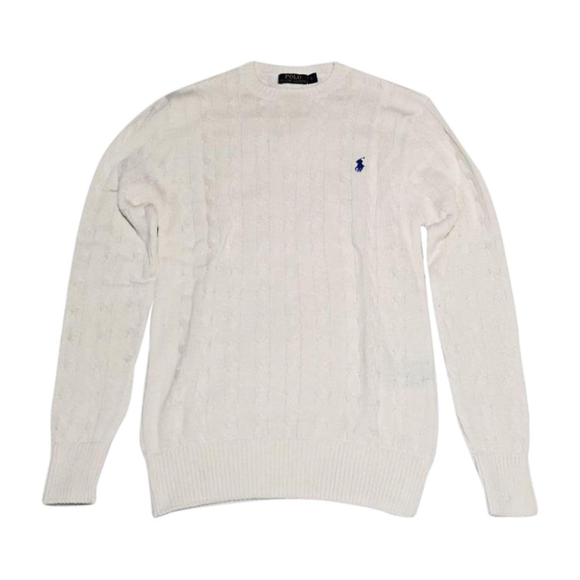 Pull RALPH LAUREN Blanc, blanc cassé, écru 84559c75540