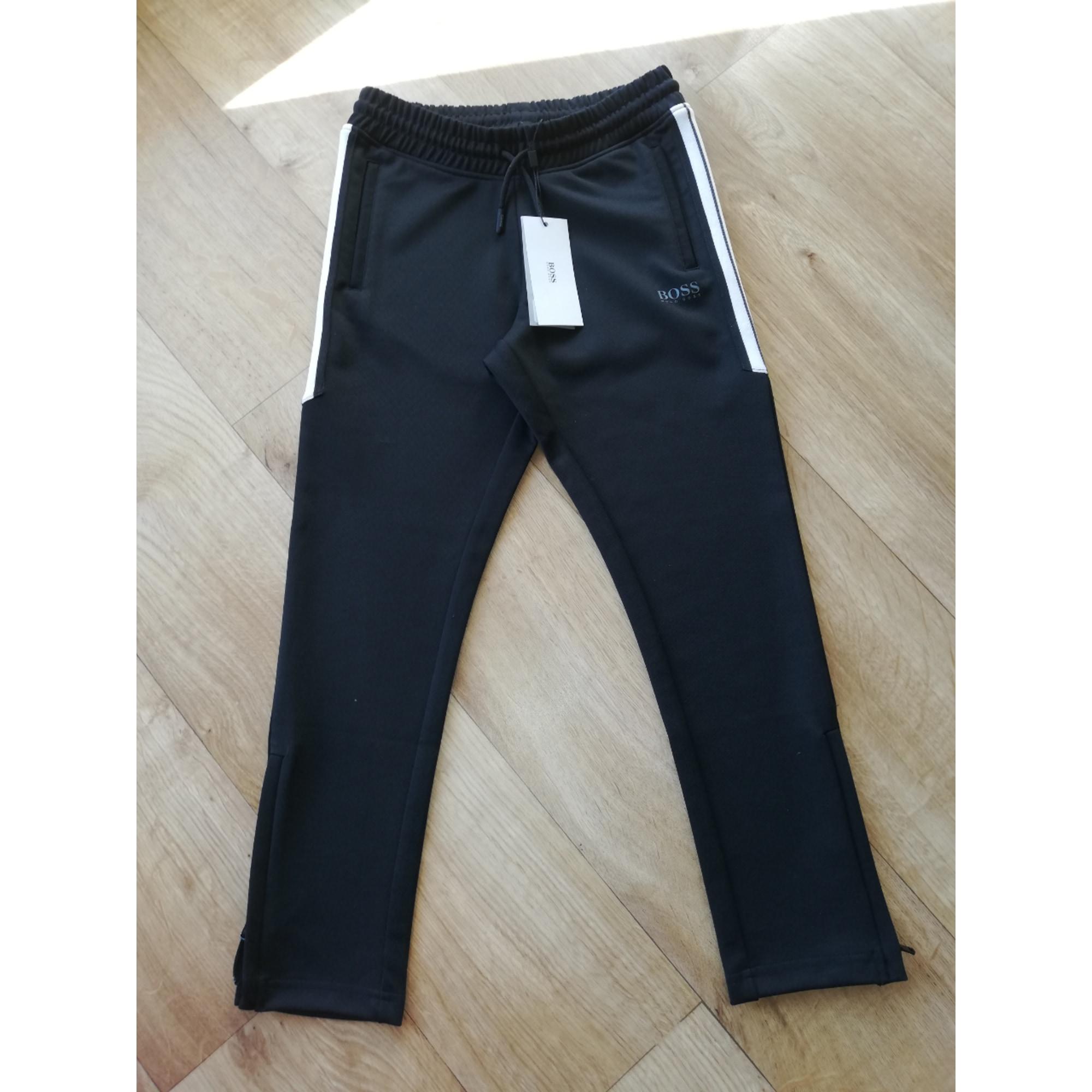 4edf281613 Pantalon HUGO BOSS 7-8 ans noir - 8146805