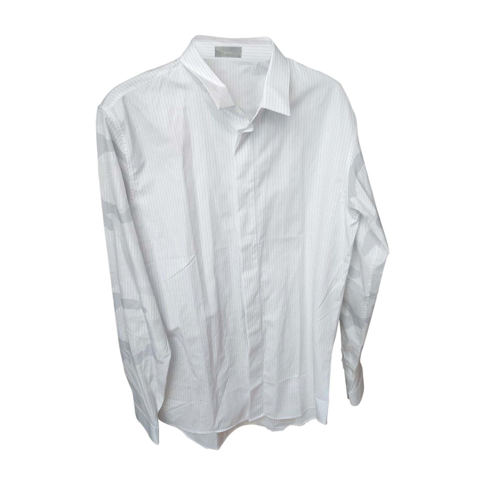 Shirt DIOR HOMME White, off-white, ecru