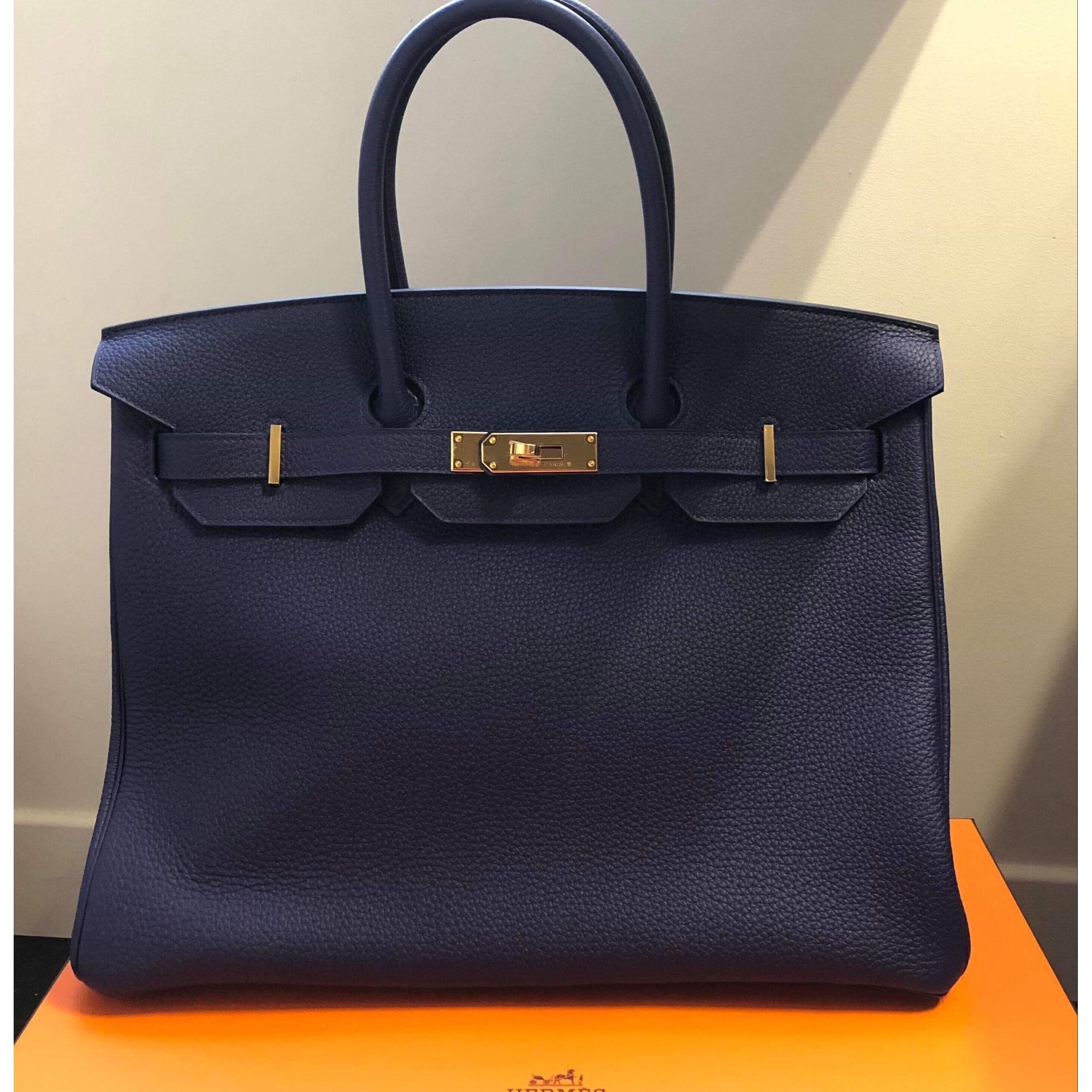 Hermès Birkin Bag en Cuir en Doré Acheter Hermès Birkin
