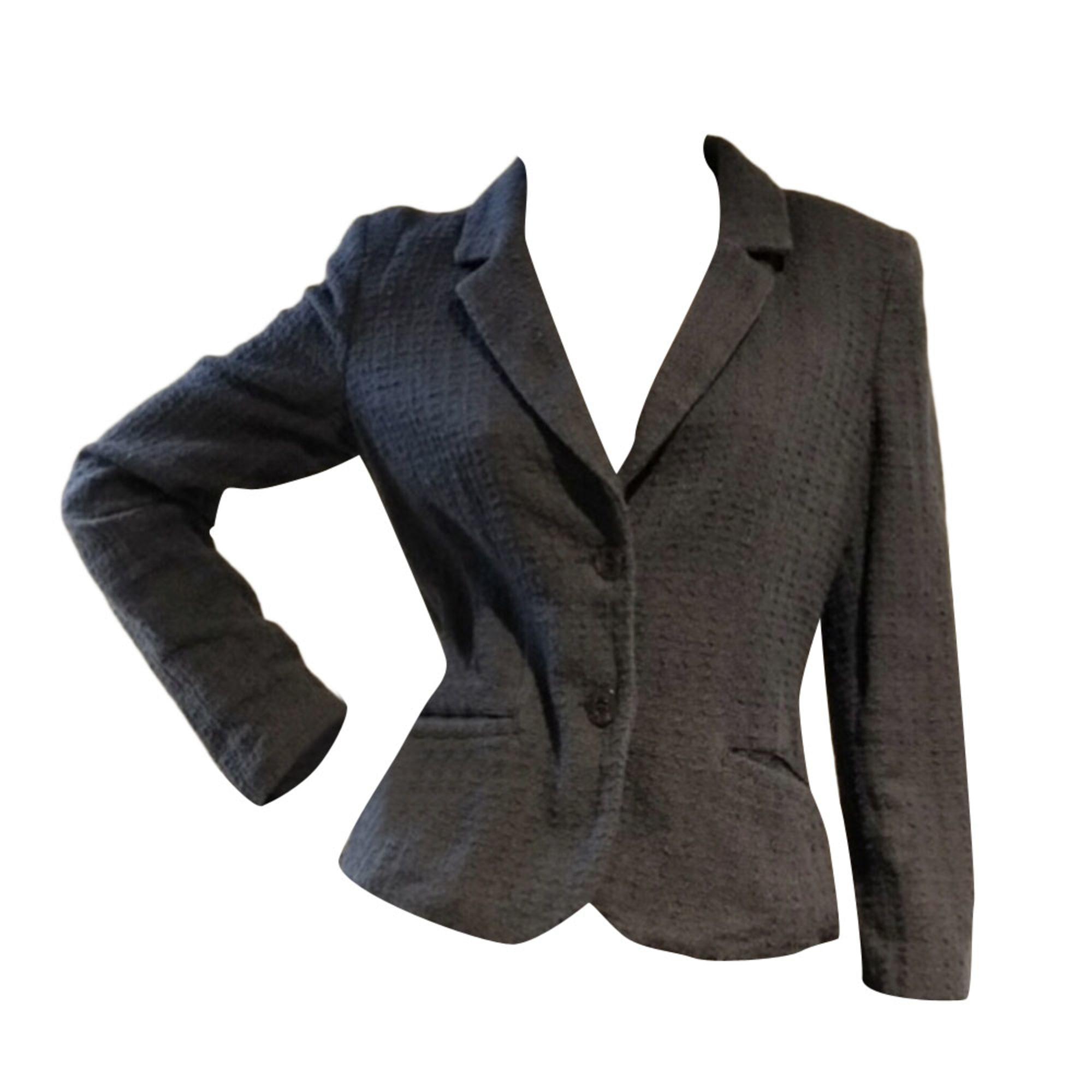 Blazer, veste tailleur ARMANI JEANS Bleu, bleu marine, bleu turquoise 944fe96537a
