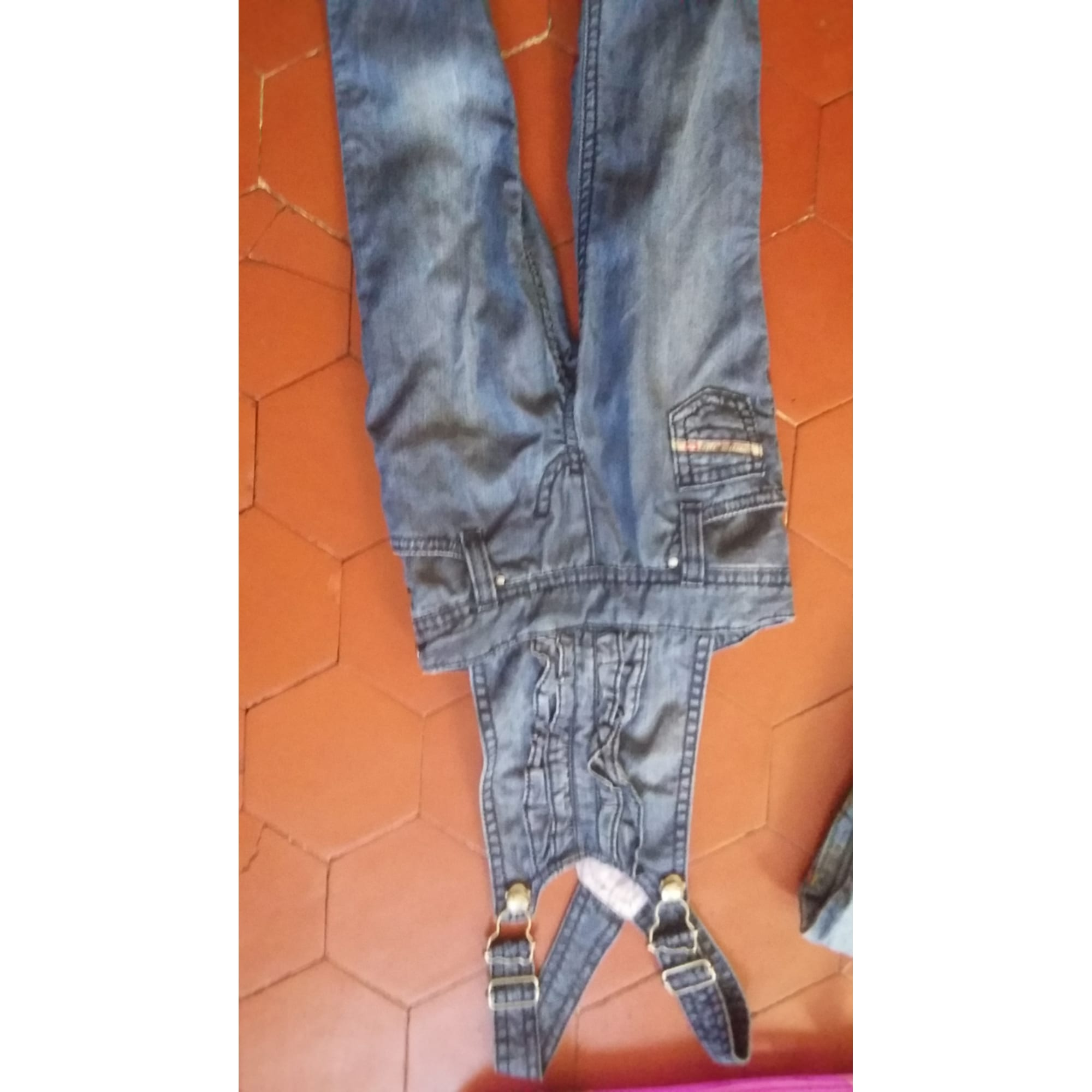 Overalls DIESEL Blue, navy, turquoise