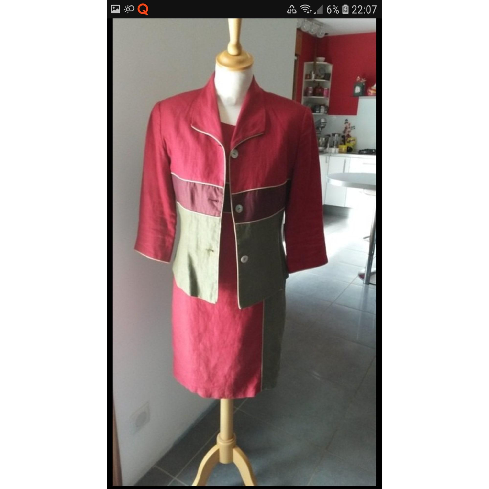 Tailleur robe JACQUELINE RIU Kaki