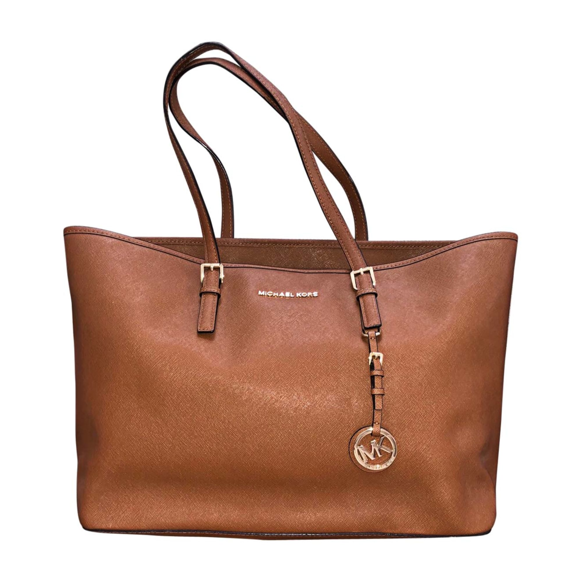3604764887c6 Leather Handbag MICHAEL KORS beige - 8165780