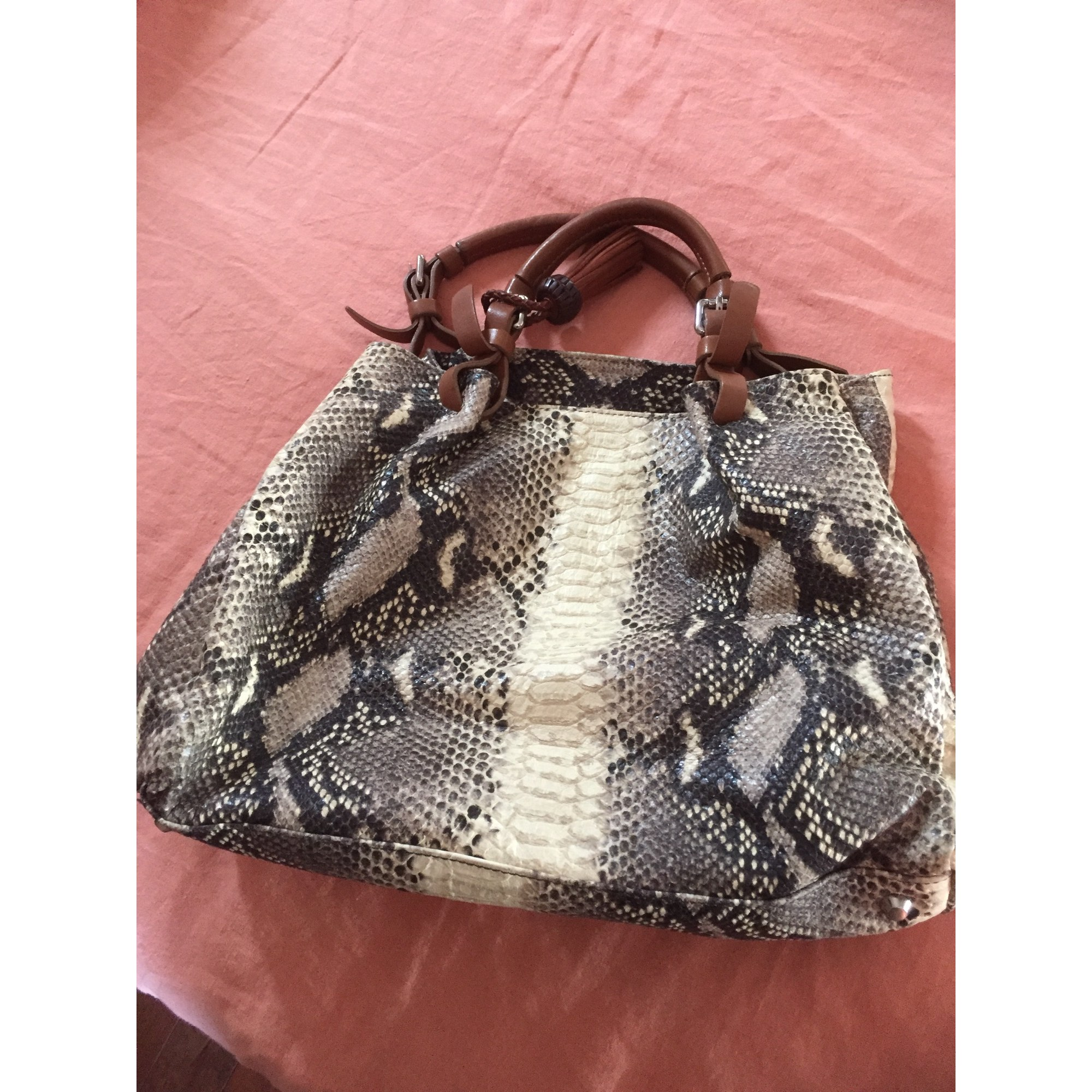 Sac à main en cuir FAIRMOUNT cuir animalier