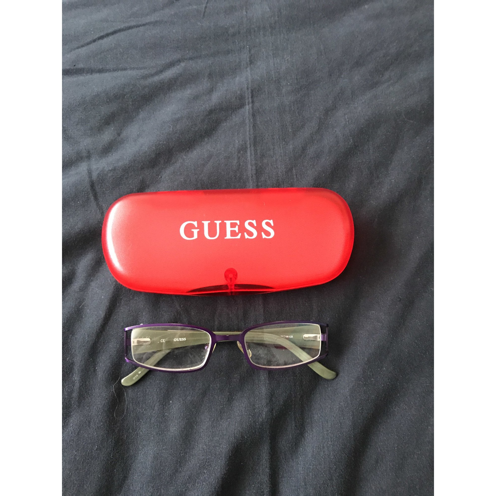 53874d1f95ebcb Monture de lunettes GUESS 9-10 ans violet - 8188349