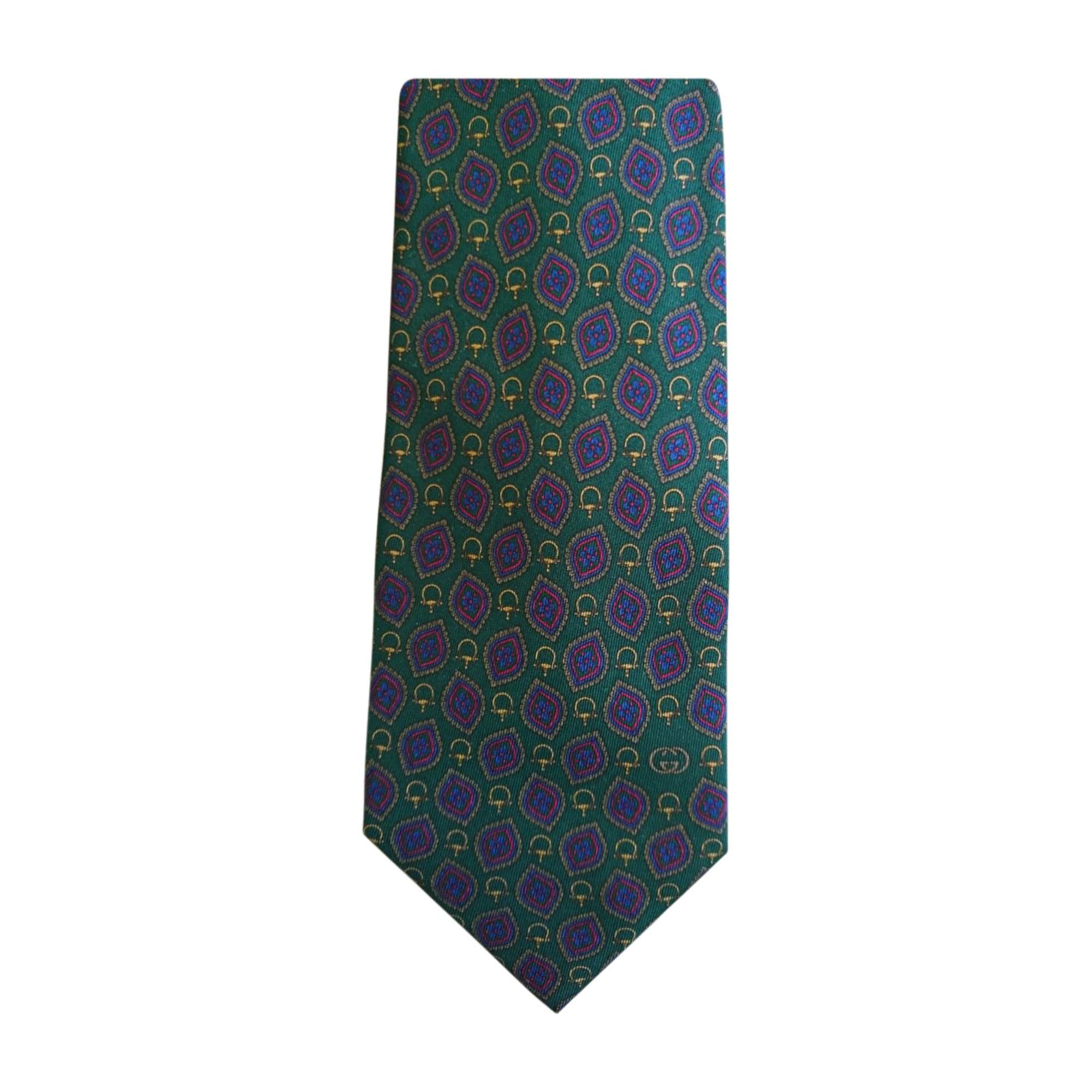 Krawatte GUCCI Grün