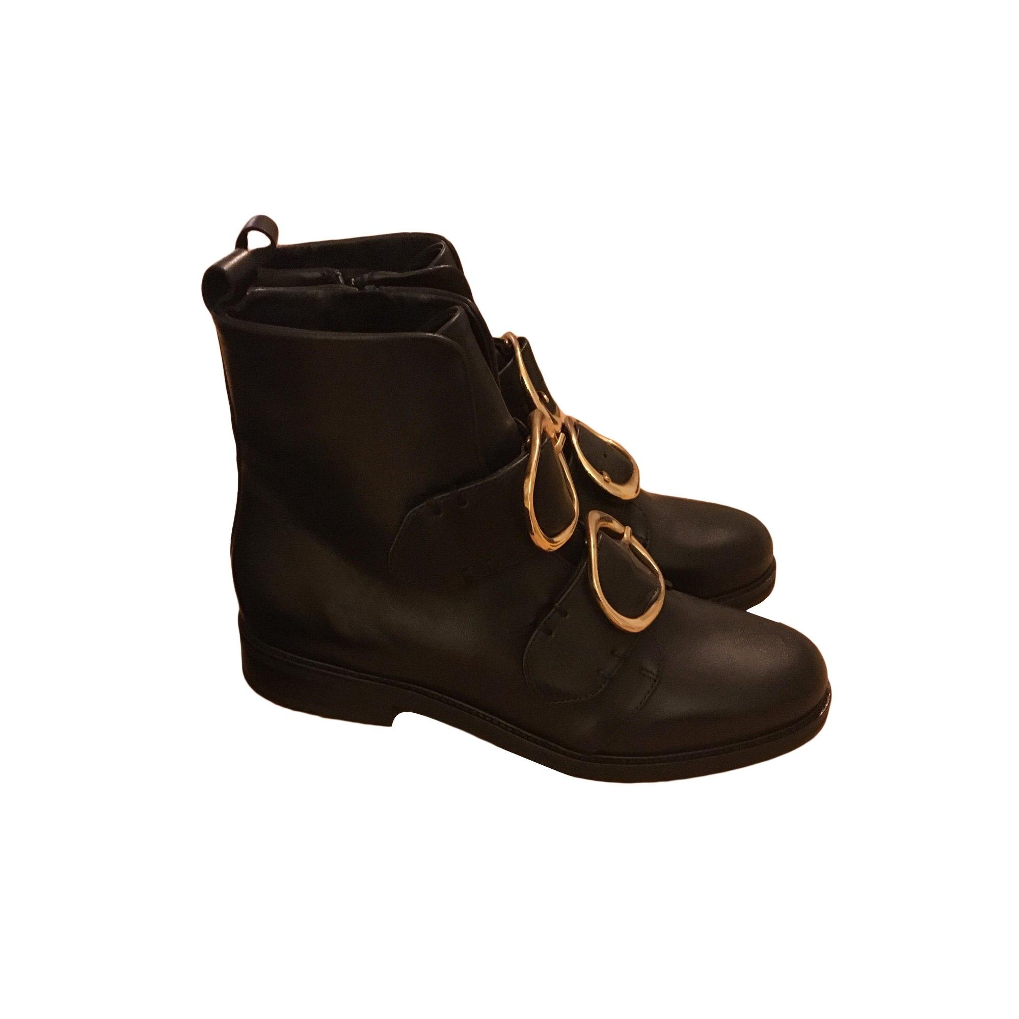 inégale en performance ordre belles chaussures Bottines & low boots plates