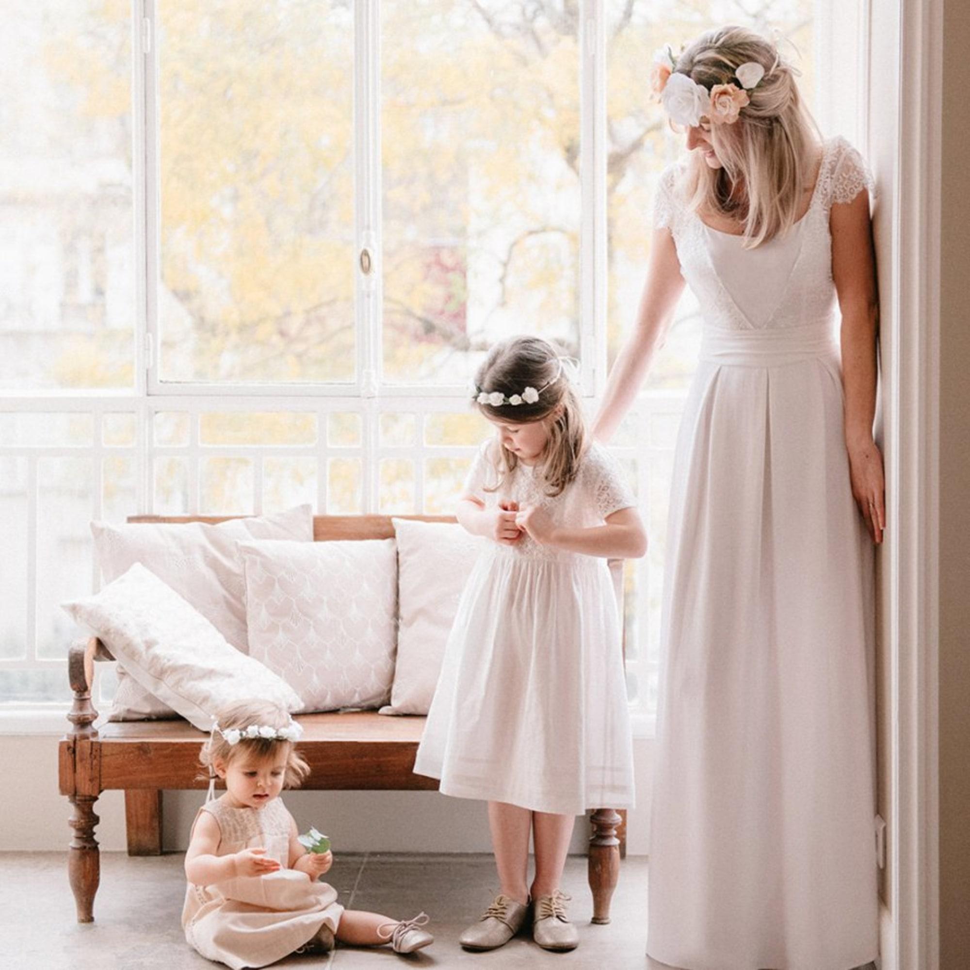 Robe de mariée LORAFOLK X MONOPRIX Blanc, blanc cassé, écru