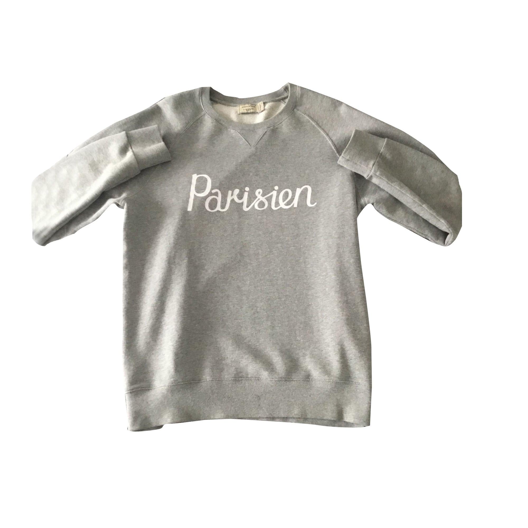 Sweatshirt MAISON KITSUNÉ Gray, charcoal