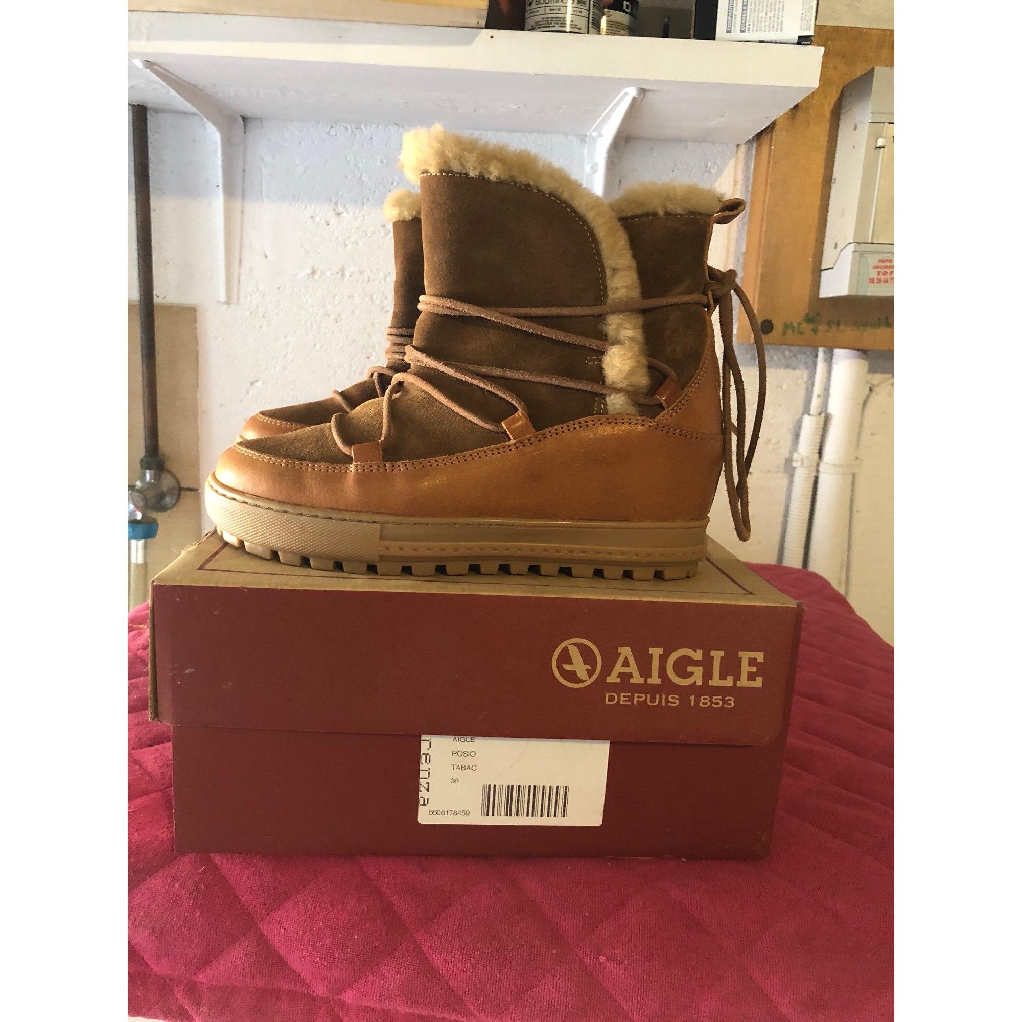 Low Par Bottines Beige 36 À Priscilla Boots Vendu Compensés amp; Aigle qCCTxg5