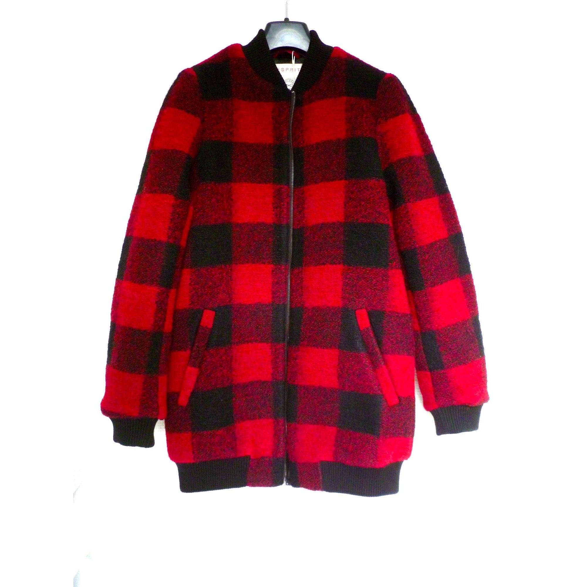 Manteau ESPRIT 36 (S, T1) rouge - 8206494 bca18b427bb0