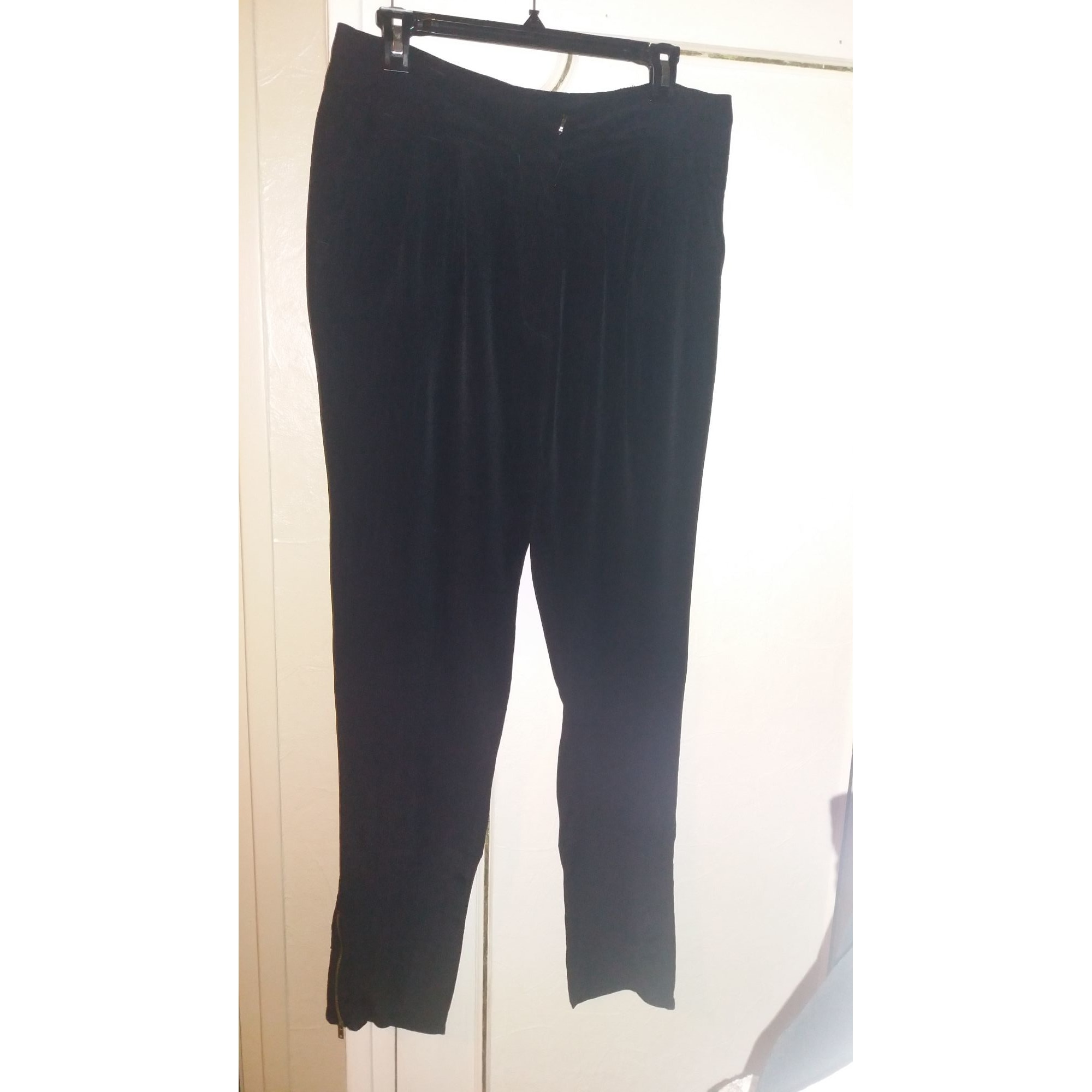 Pantalon slim, cigarette STELLA FOREST Noir
