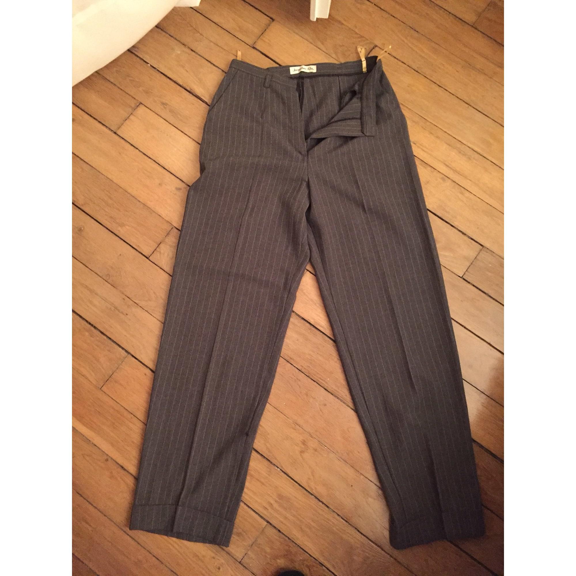 Pantalon droit UNITED COLORS OF BENETTON Marron