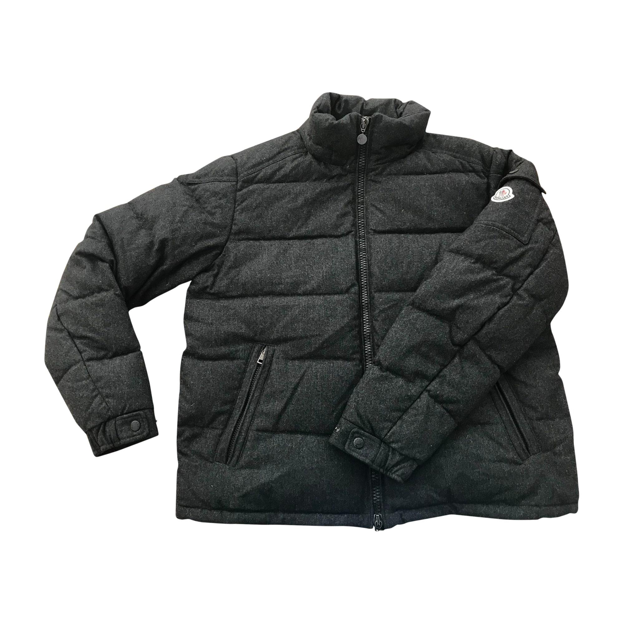 Doudoune MONCLER 52 (L) gris - 8218051 125525a8dd2