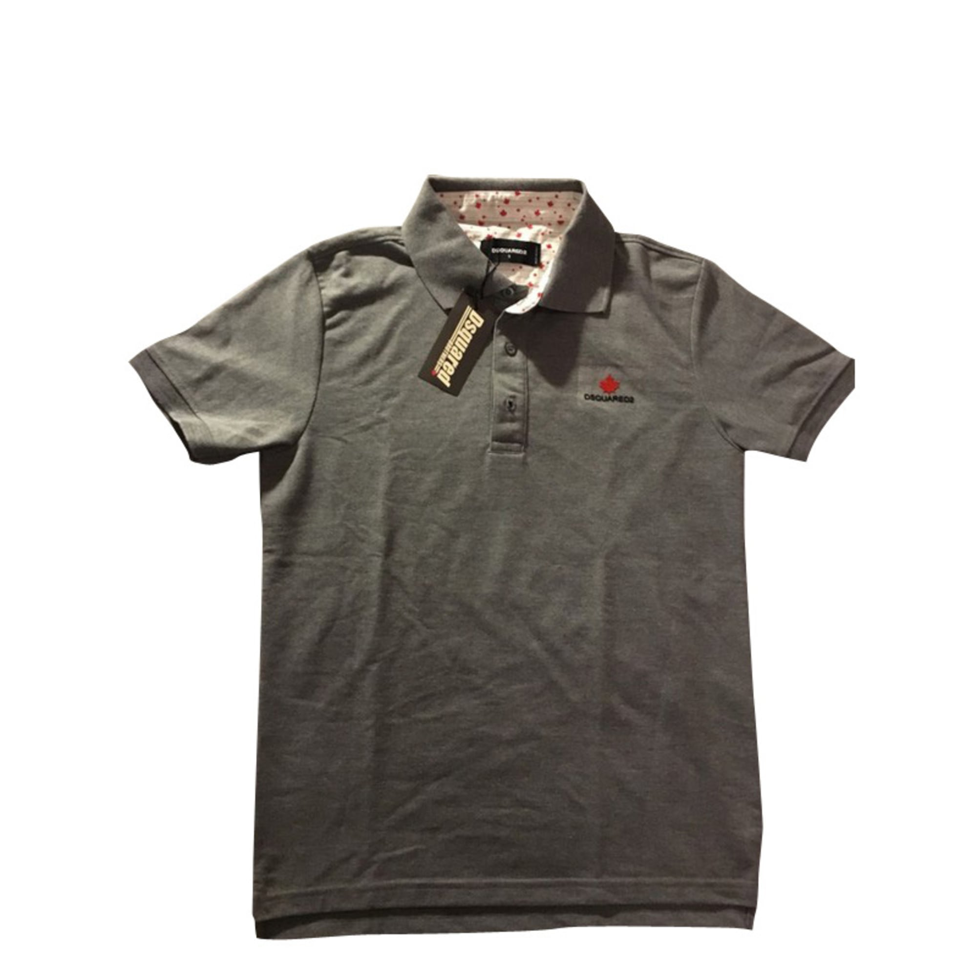 Polo DSQUARED2 Gray, charcoal