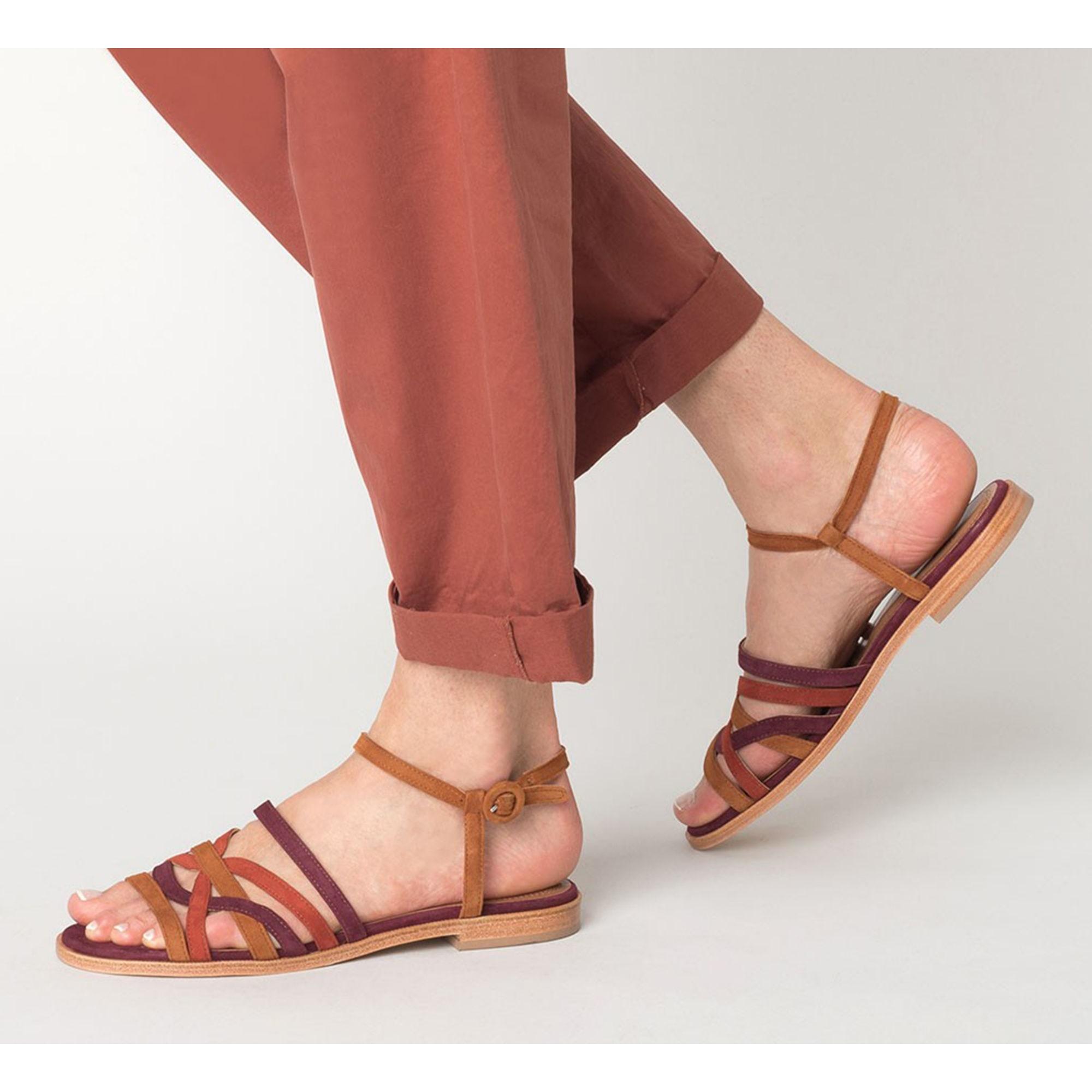 Sandales Par 38 Plates Eram 8231081 Multicouleur Vendu Chonbid yN8nmwv0O