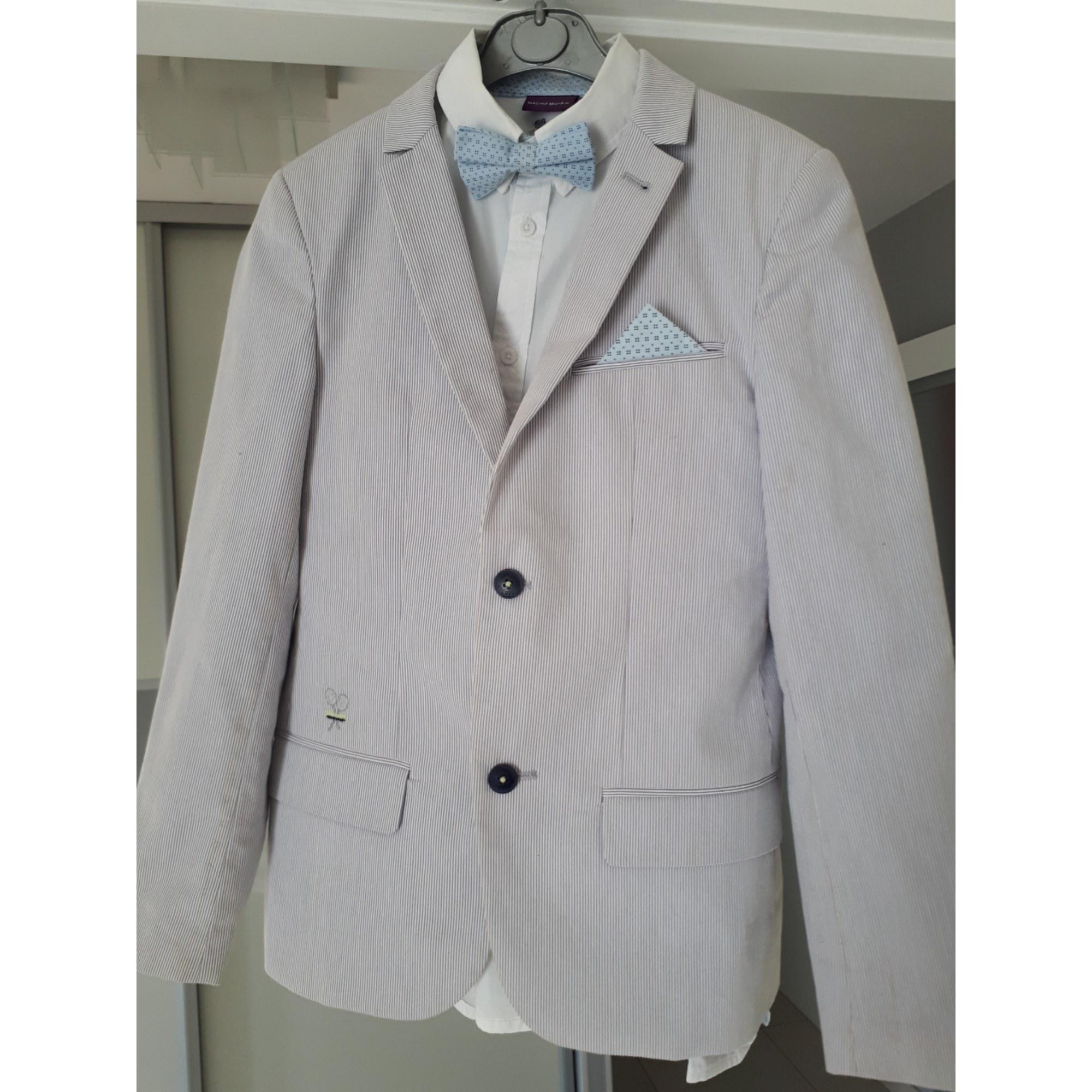 e8ecb421ce82f Veste de costume SERGENT MAJOR 13-14 ans bleu et blanc - 8242813