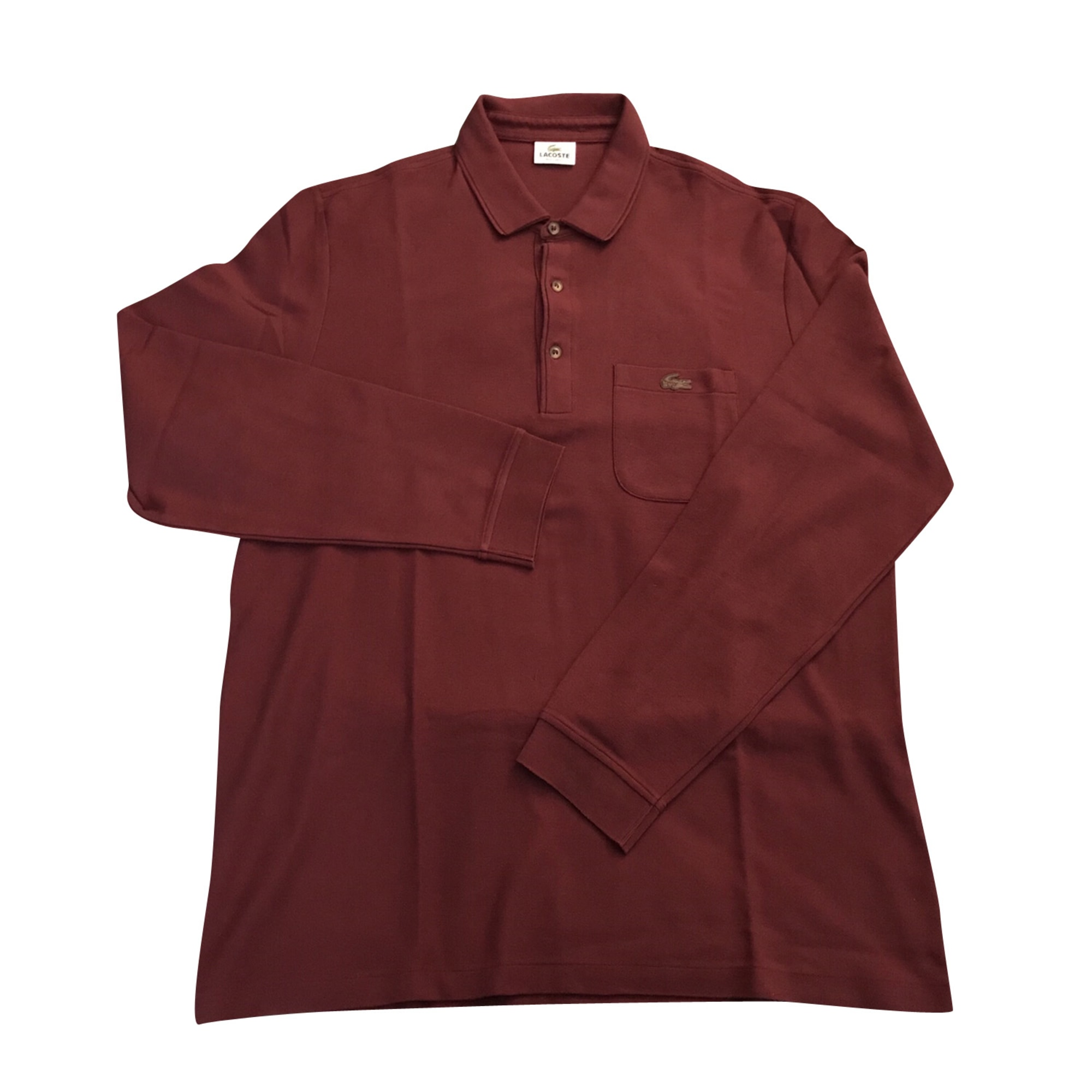 bfd063547f7 Polo LACOSTE 7 (XXXXL) rouge - 8245870