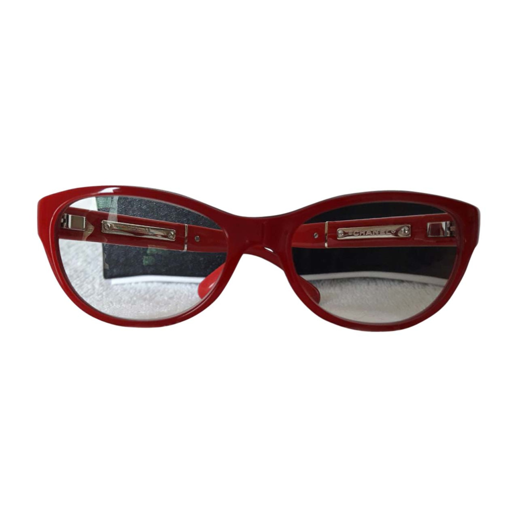 ac1a7af9c8 Monture de lunettes CHANEL Rouge, bordeaux