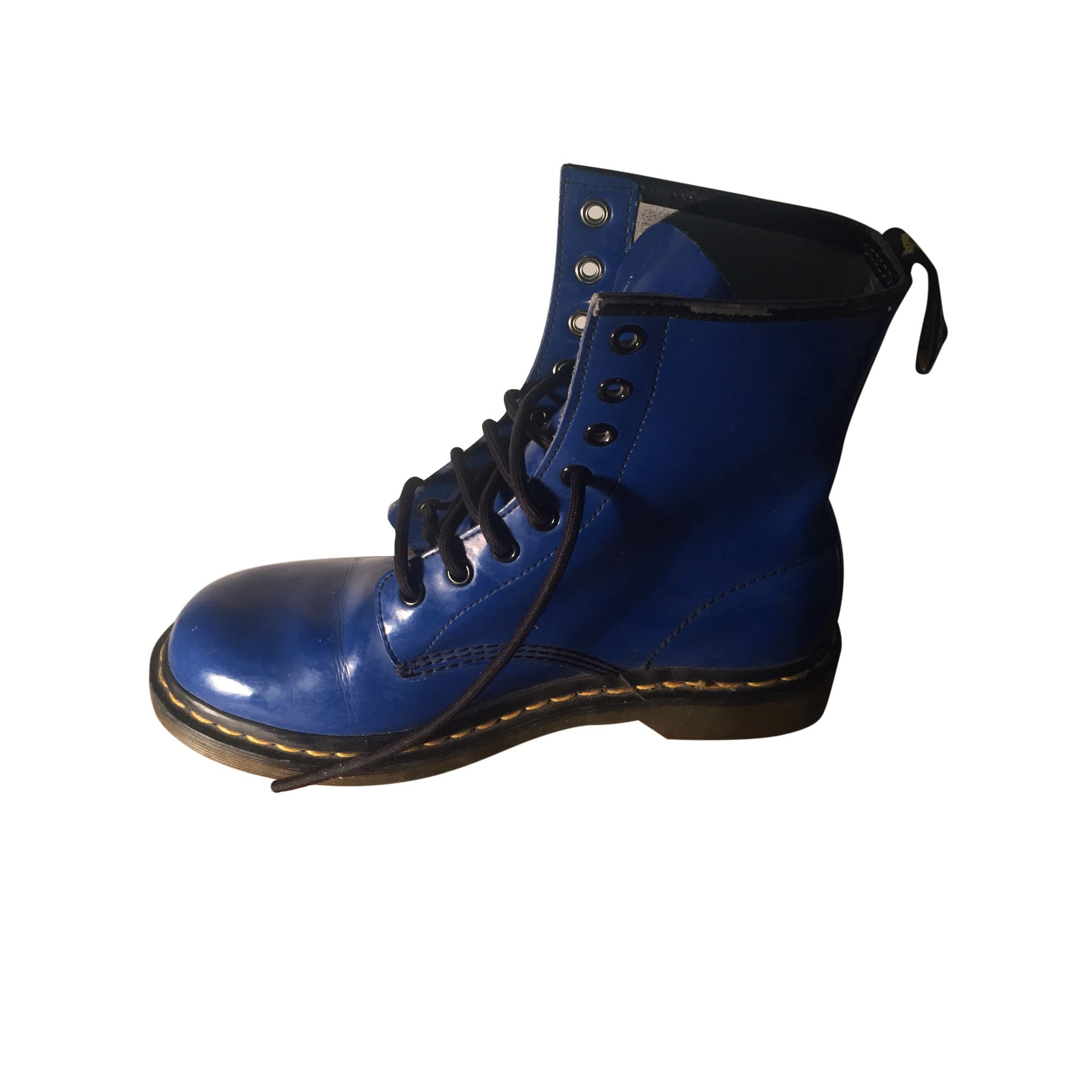 Dr 8254570 41 Martens Bleu Bottes Motards vRq5wqp