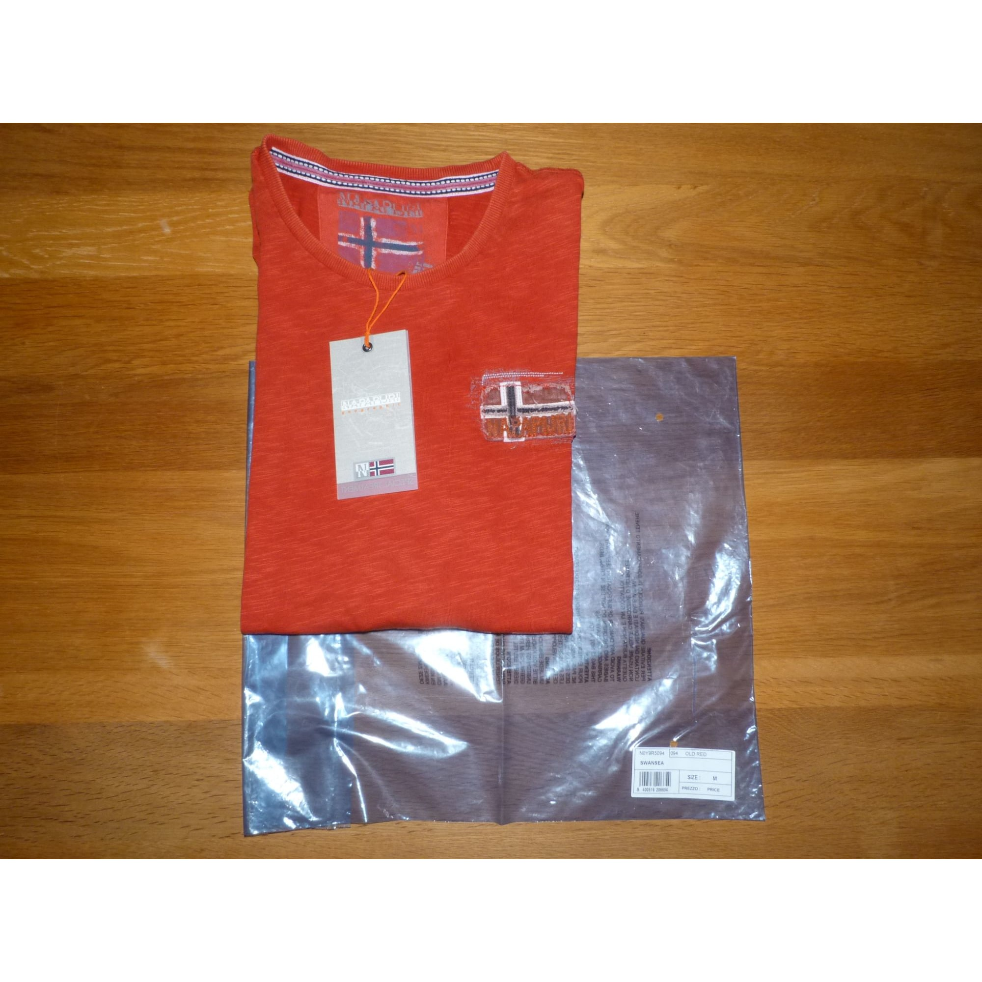 Tee-shirt NAPAPIJRI Rouge, bordeaux
