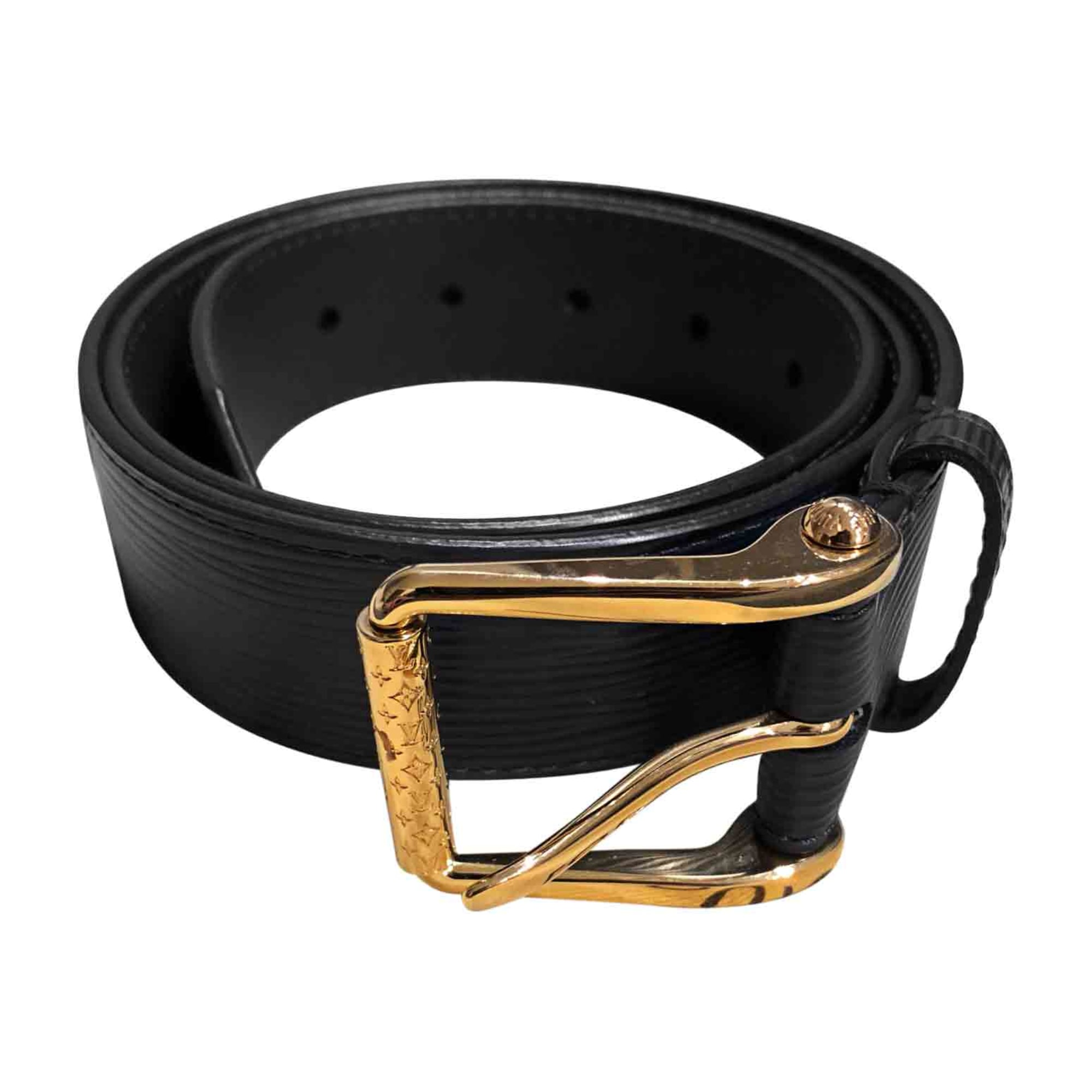Wide Belt LOUIS VUITTON Blue, navy, turquoise